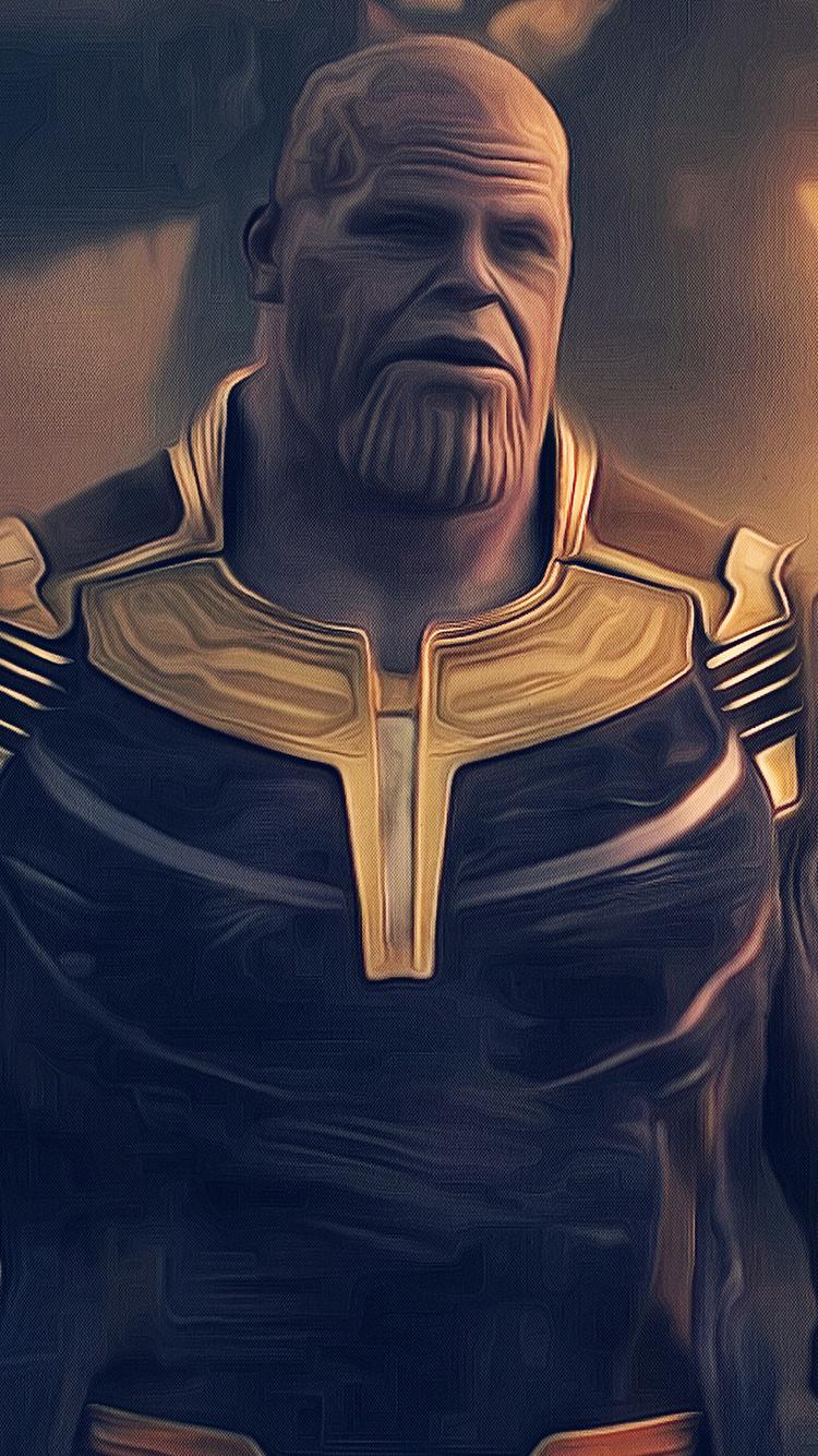 Thanos Avengers Infinity War  K Artwork V
