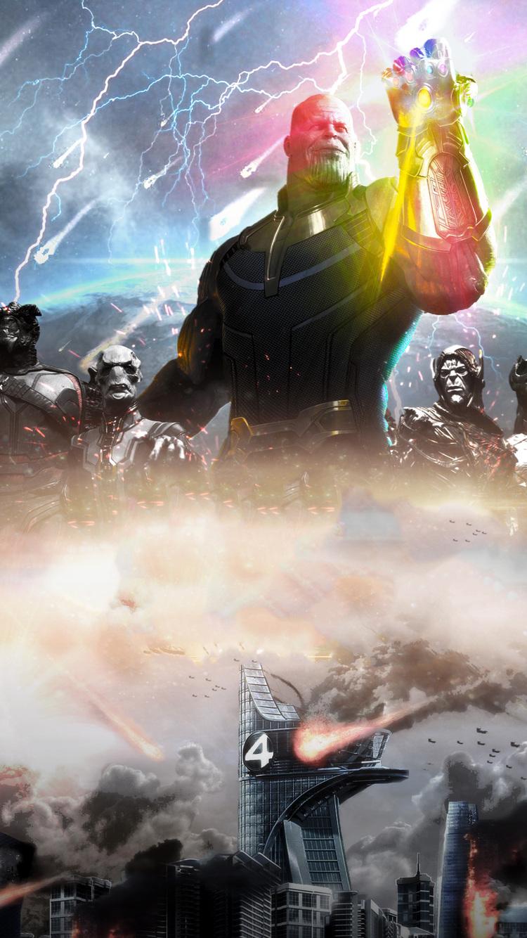 Thanos Avengers Infinity War  Artwork Lx Jpg