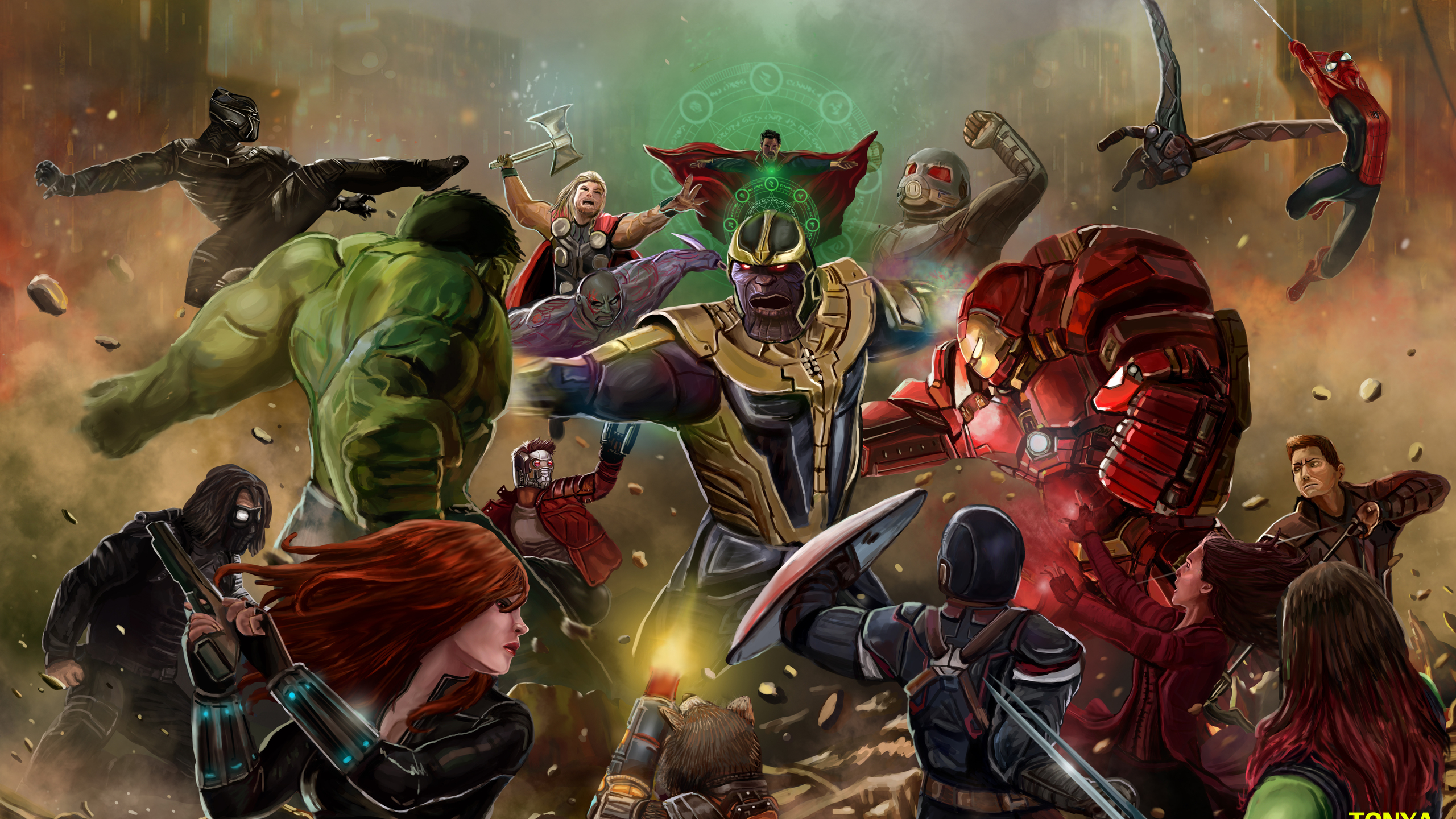 thanos-beating-all-the-avengers-in-avengers-infinity-war-artwork-ys.jpg