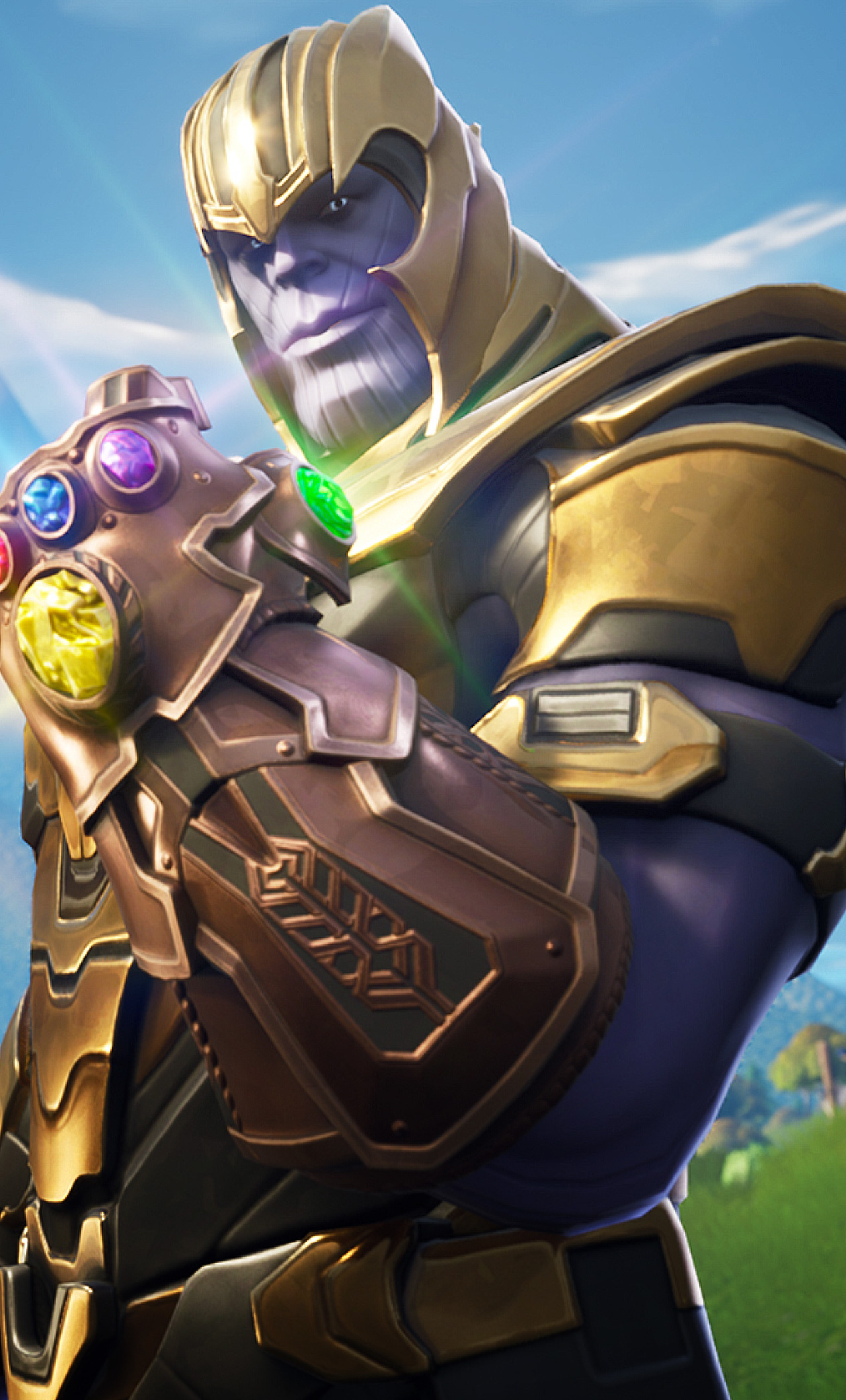 1280x2120 Thanos In Fortnite Battle Royale iPhone 6+ HD 4k