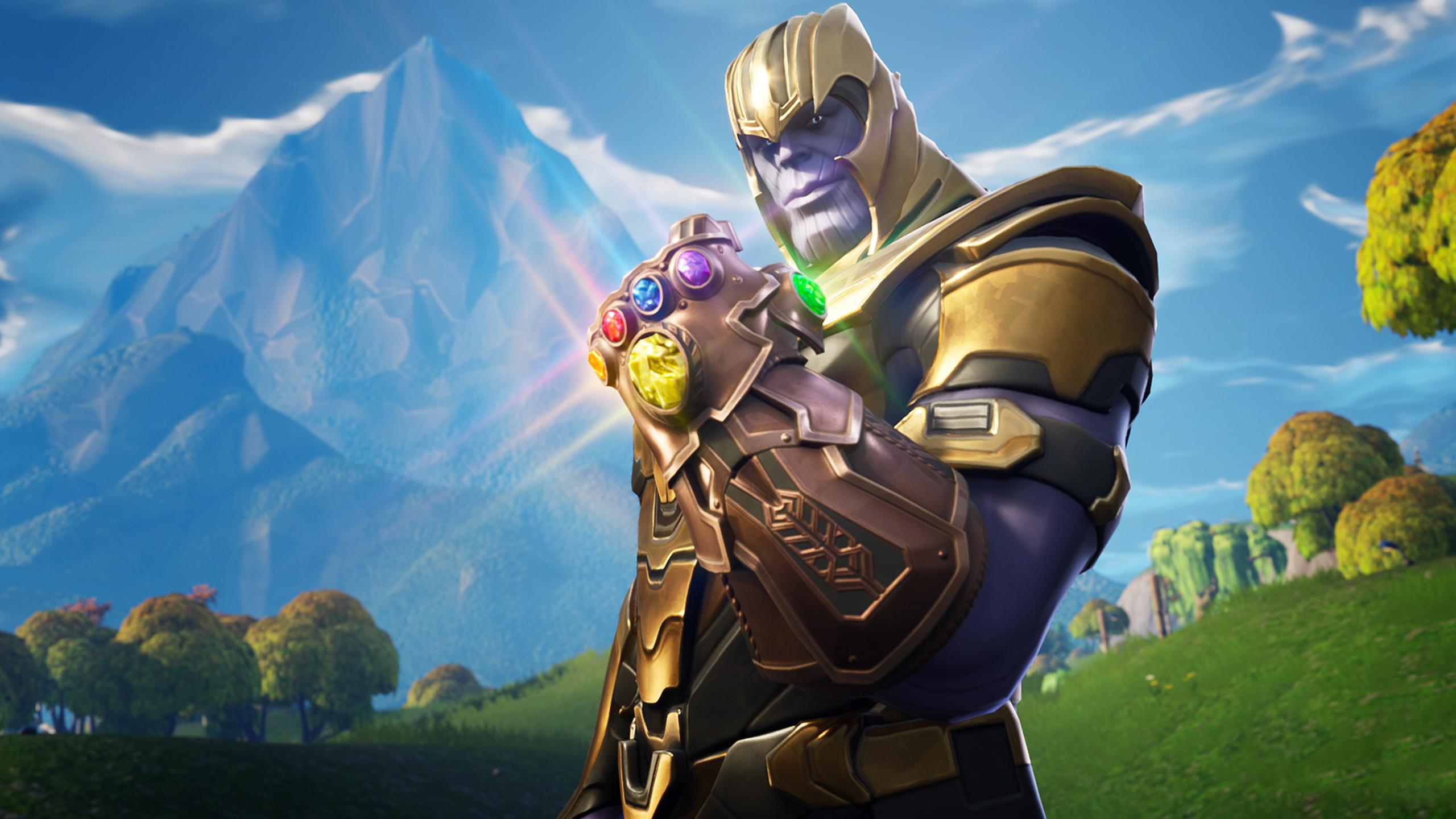 Thanos In Fortnite Battle Royale Ef