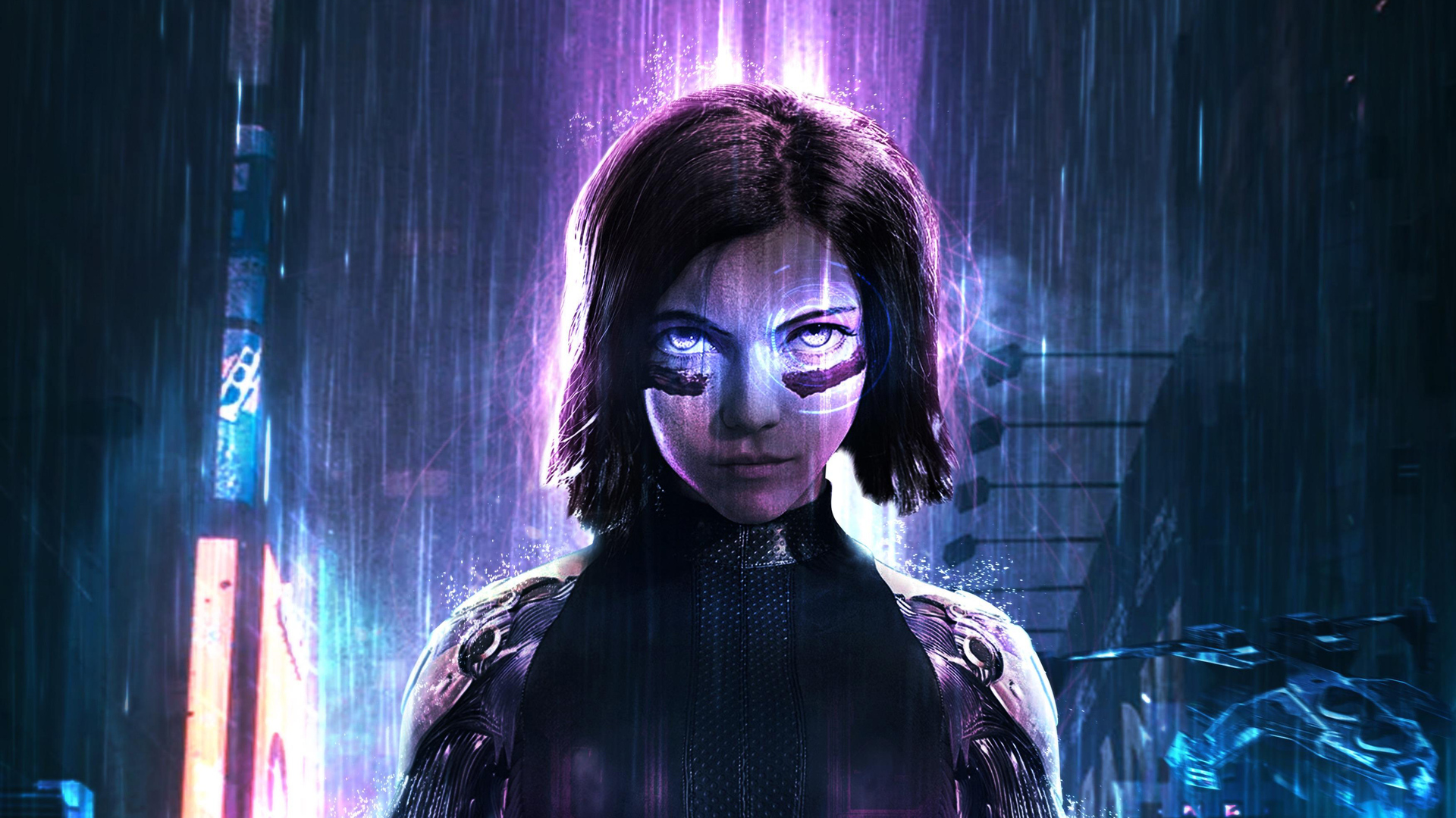 1920x1080 The Alita Battle Angel Laptop Full Hd 1080p Hd 4k