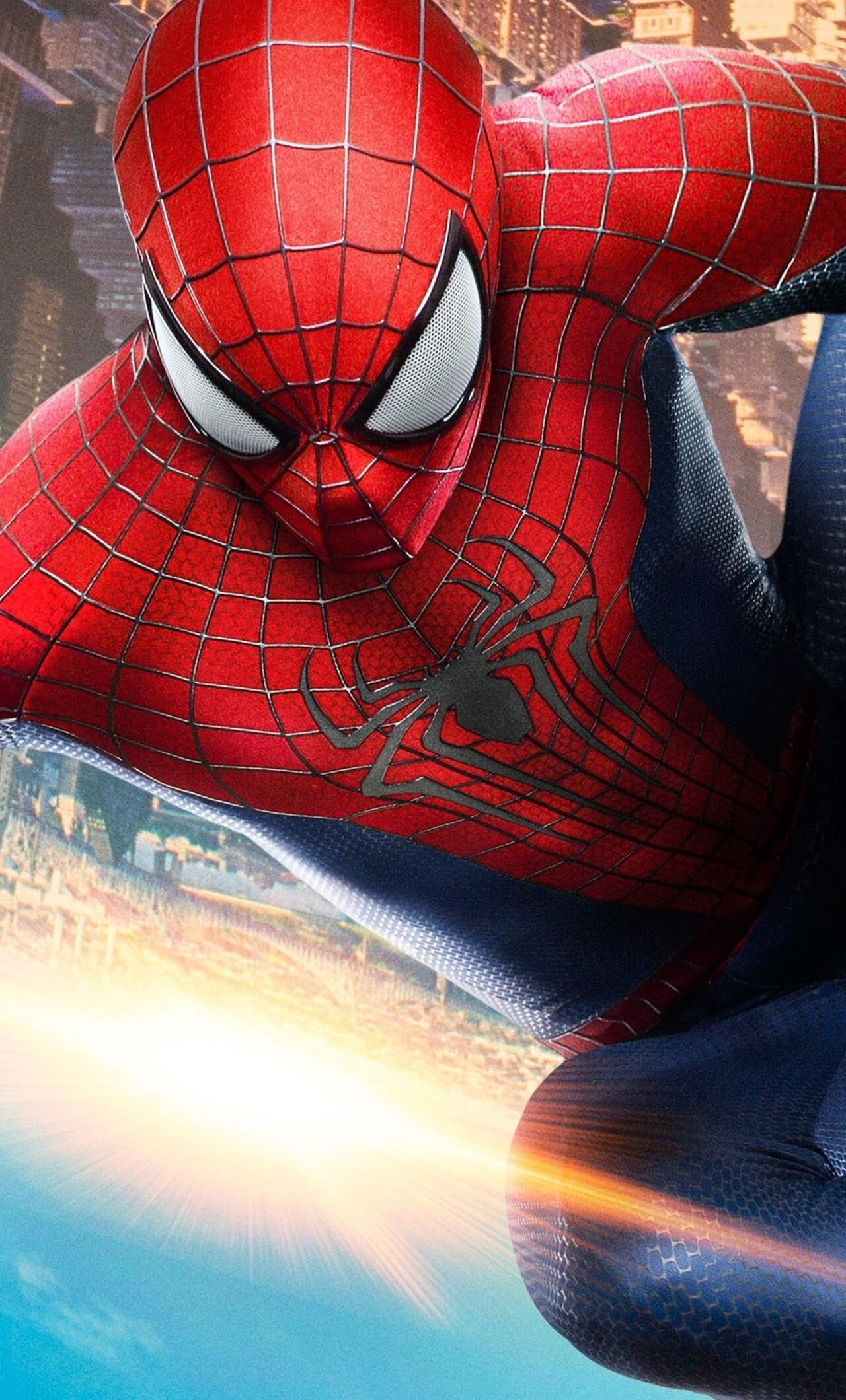 1280x2120 the amazing spider man 2 iphone 6+ hd 4k wallpapers