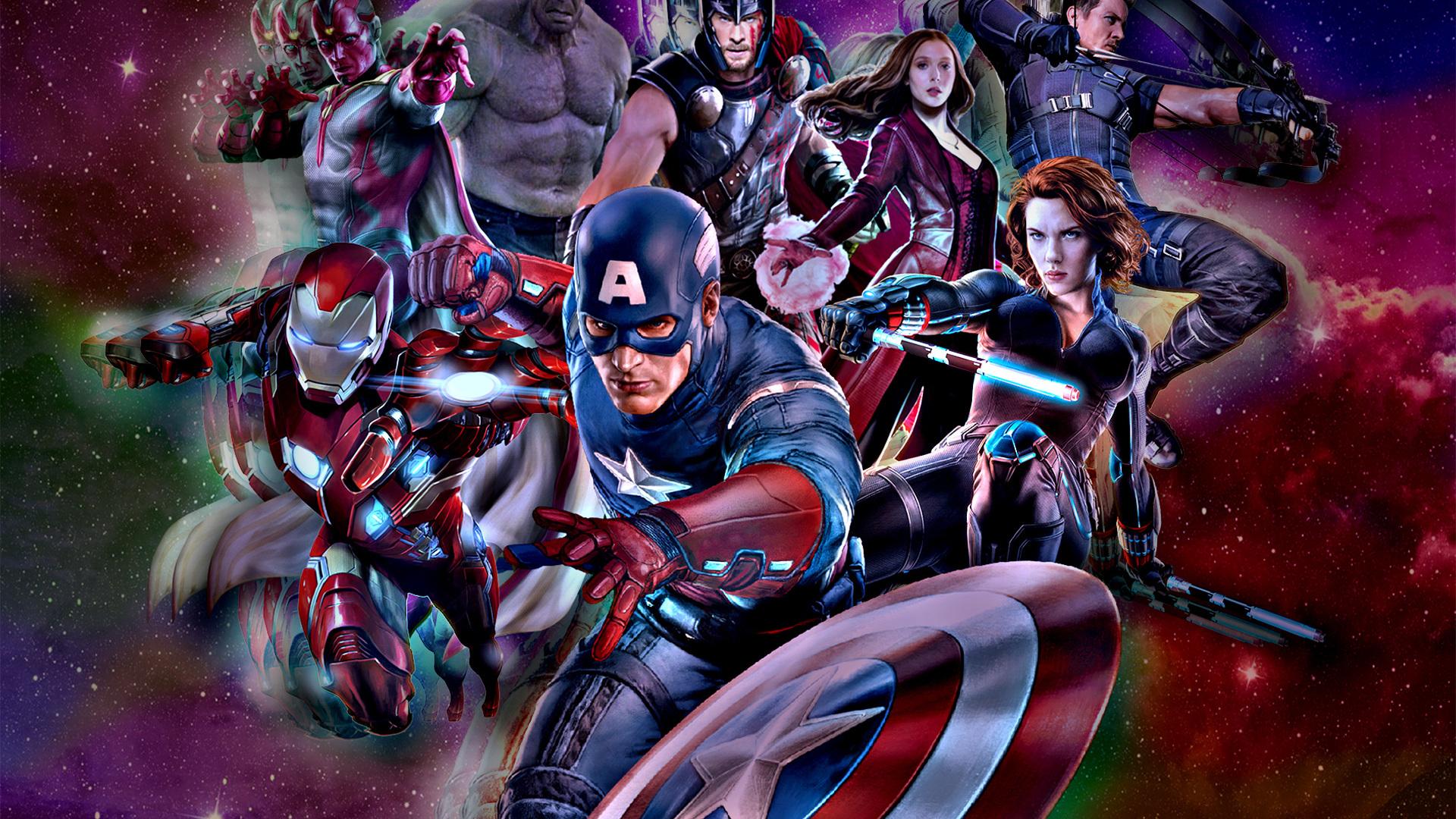 1920x1080 The Avengers Marvel Comics Laptop Full HD 1080P ...