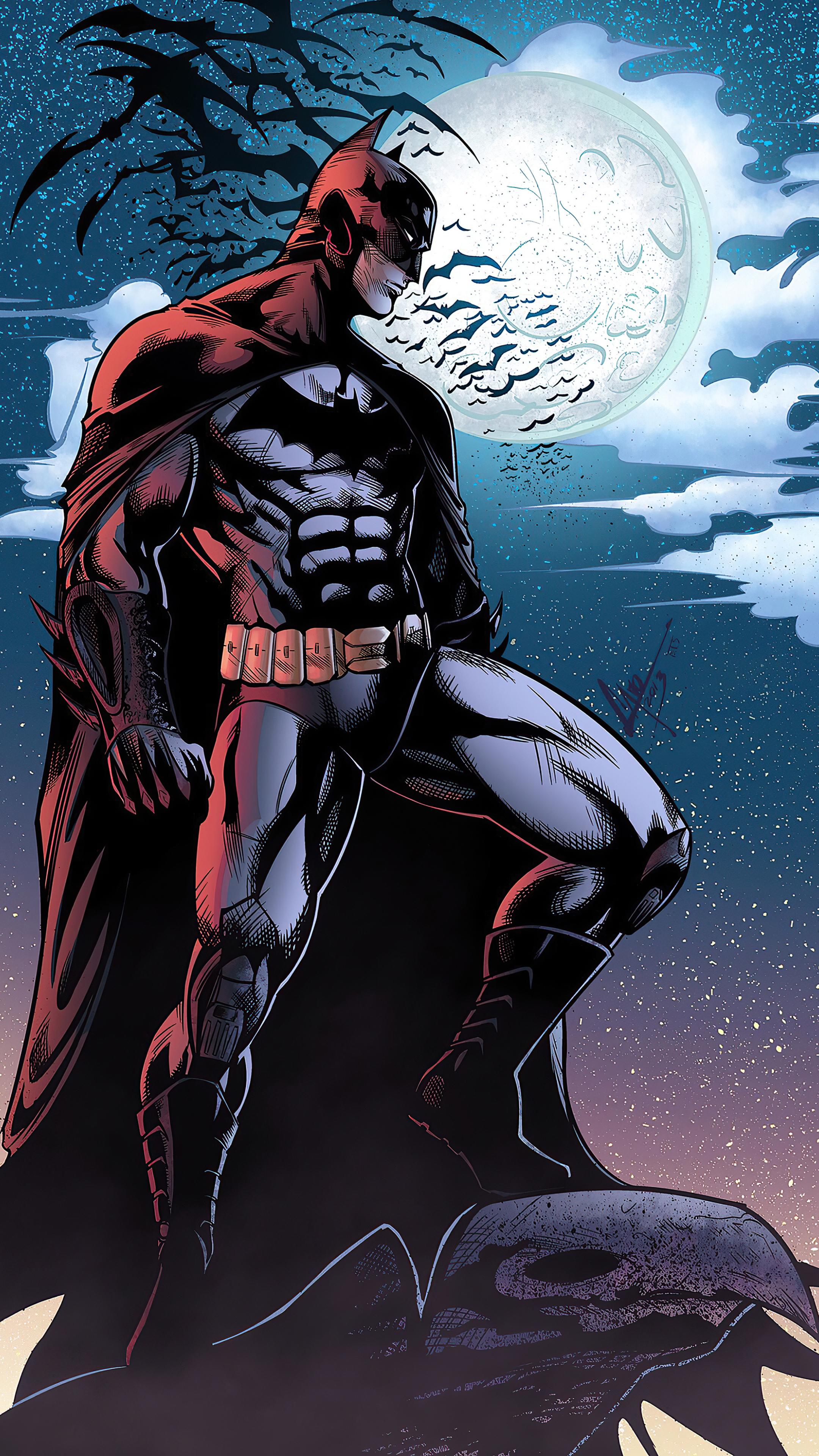 2160x3840 The Batman Knight 4k Sony Xperia X,XZ,Z5 Premium ...