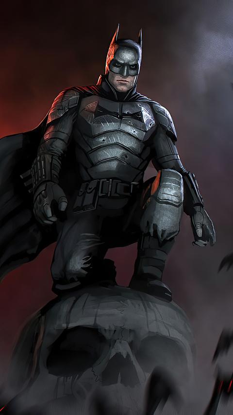 480x854 The Batman Robert 2021 Android One HD 4k ...