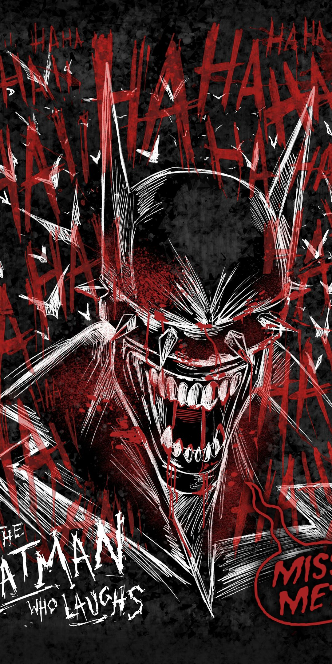 1080x2160 The Batman Who Laughs 5k One Plus 5t Honor 7x Honor View