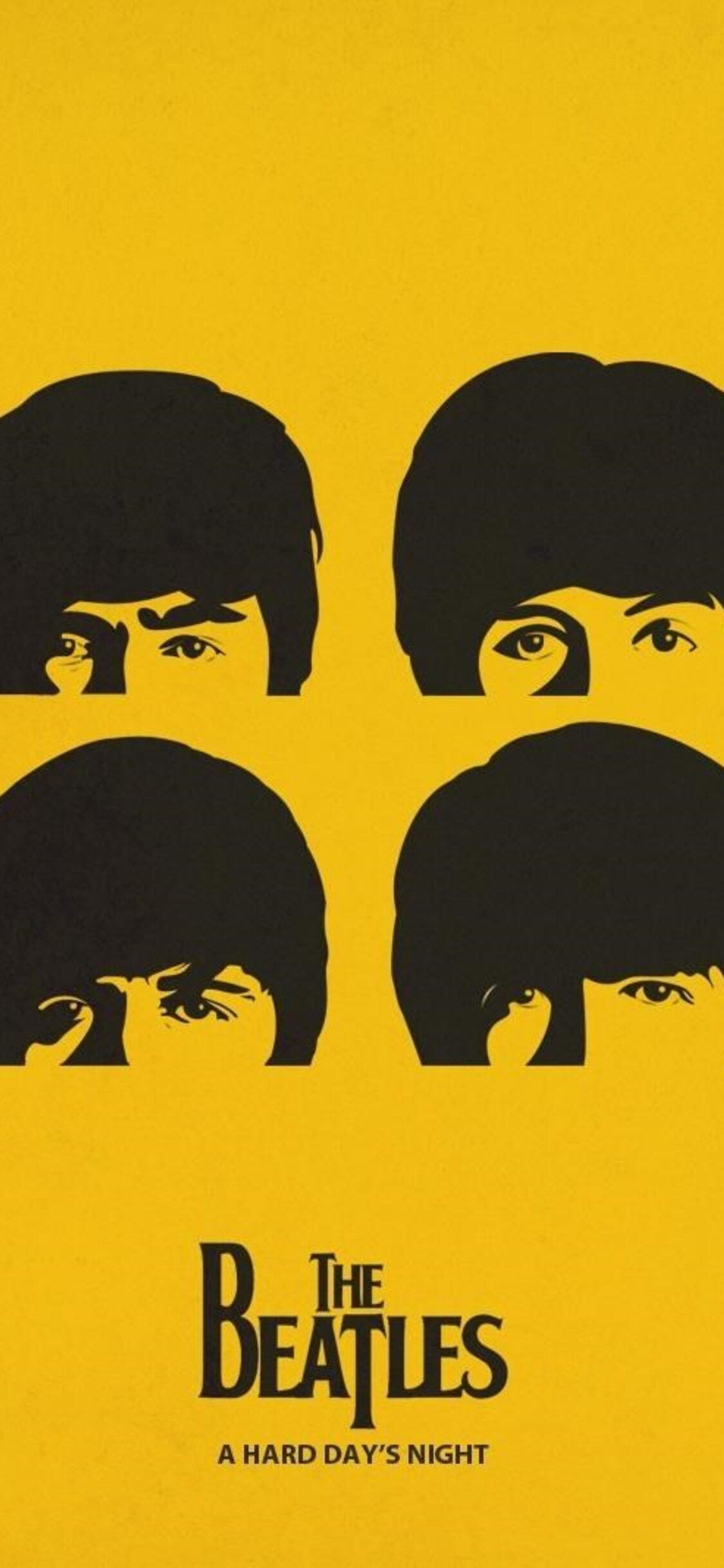 1125x2436 The Beatles Minimalism Iphone Xs Iphone 10 Iphone