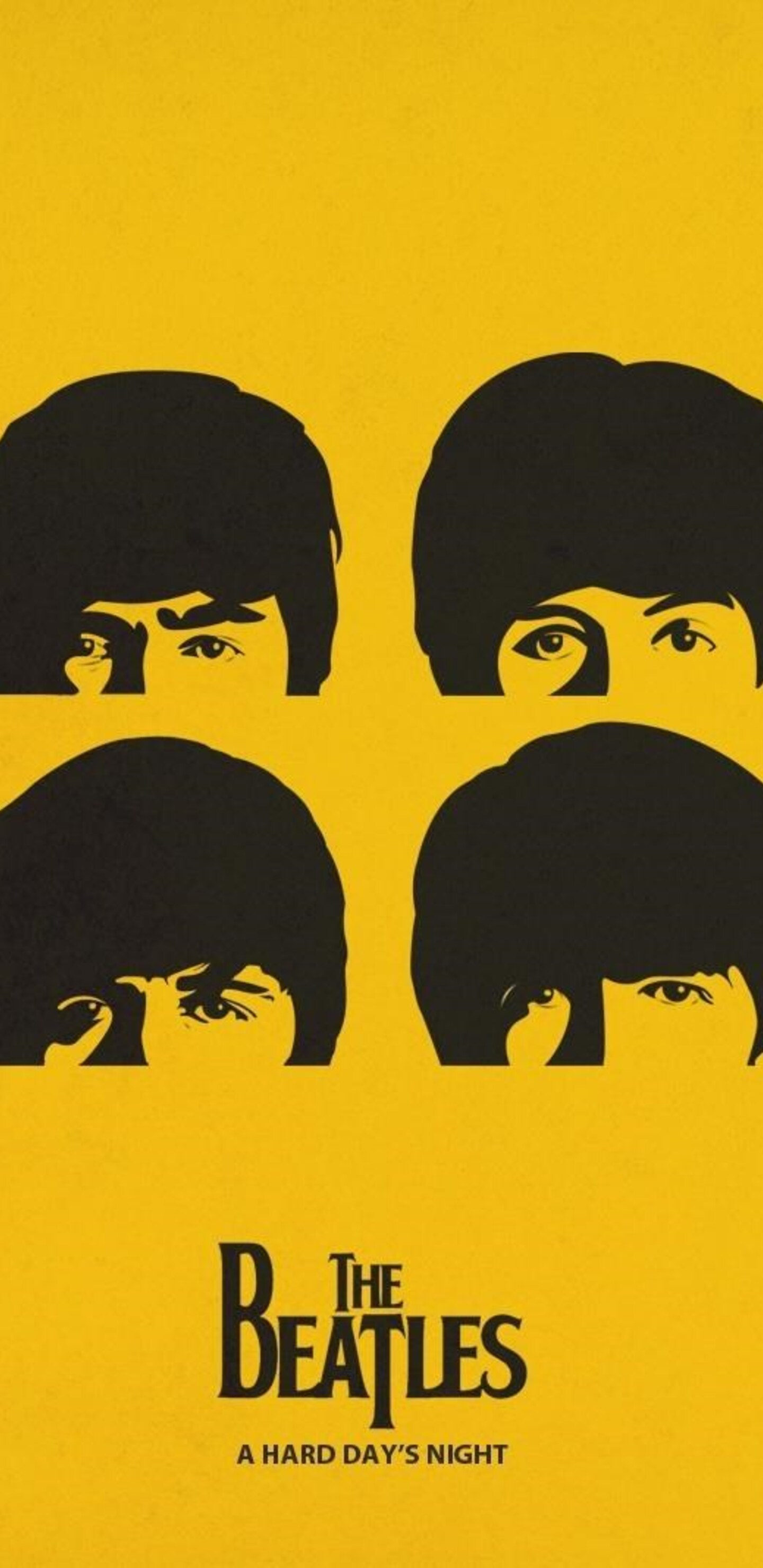 The Beatles Minimalism Pic