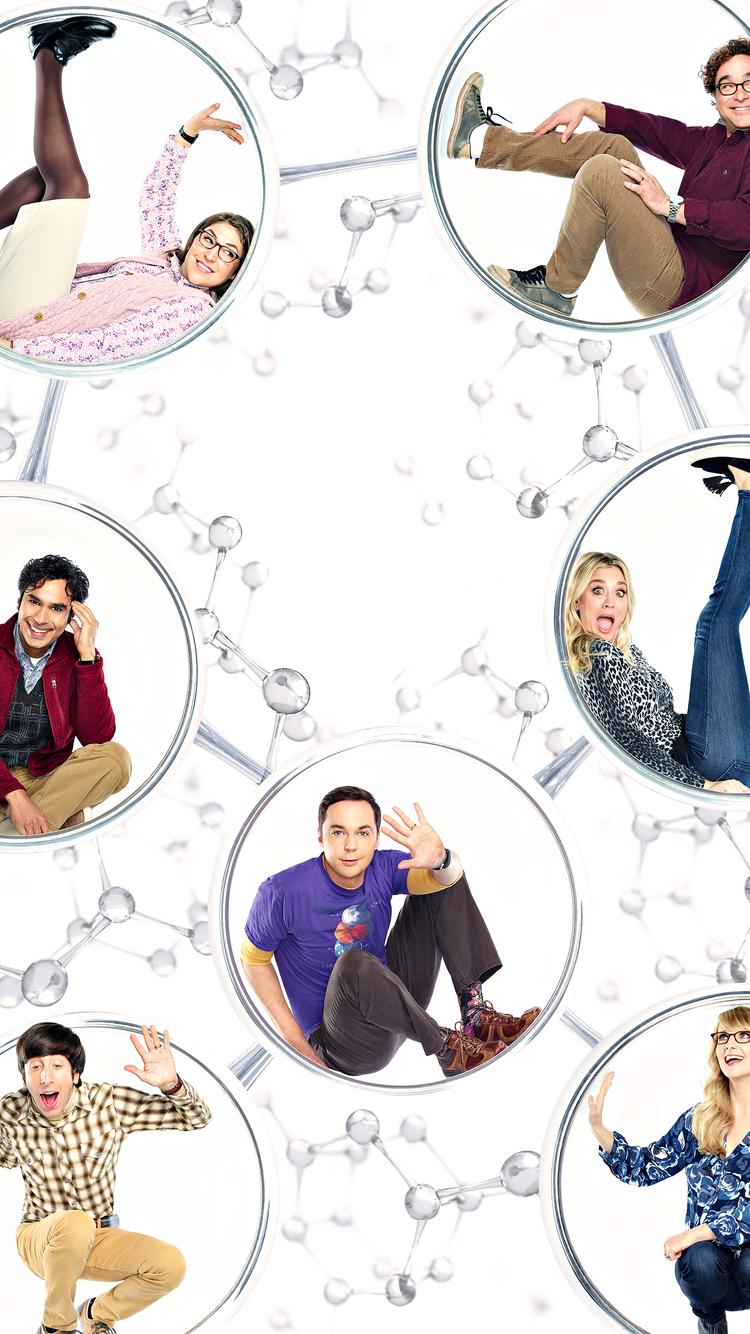 750x1334 The Big Bang Theory Tv Series 4k Iphone 6 Iphone 6s