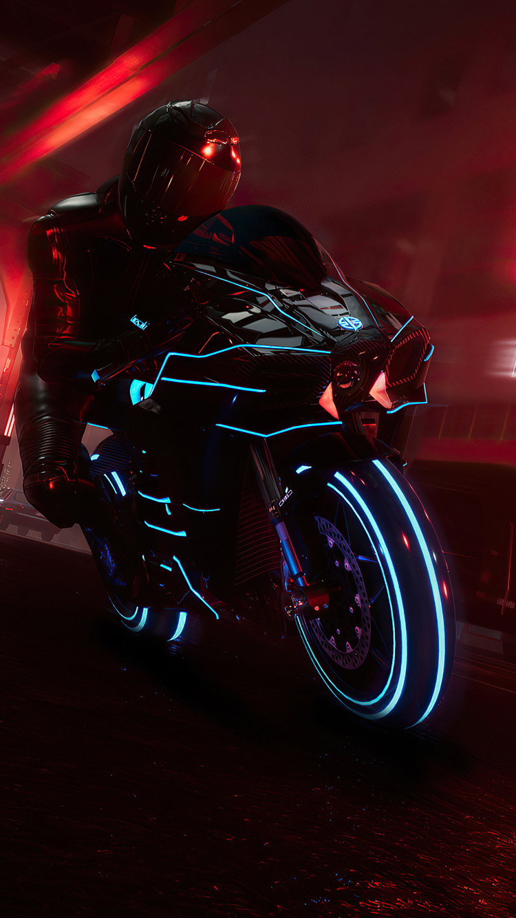 750x1334 The Crew 2 Kawasaki Ninja H2 Iphone 6 Iphone 6s Iphone 7 Hd 4k Wallpapers Images Backgrounds Photos And Pictures