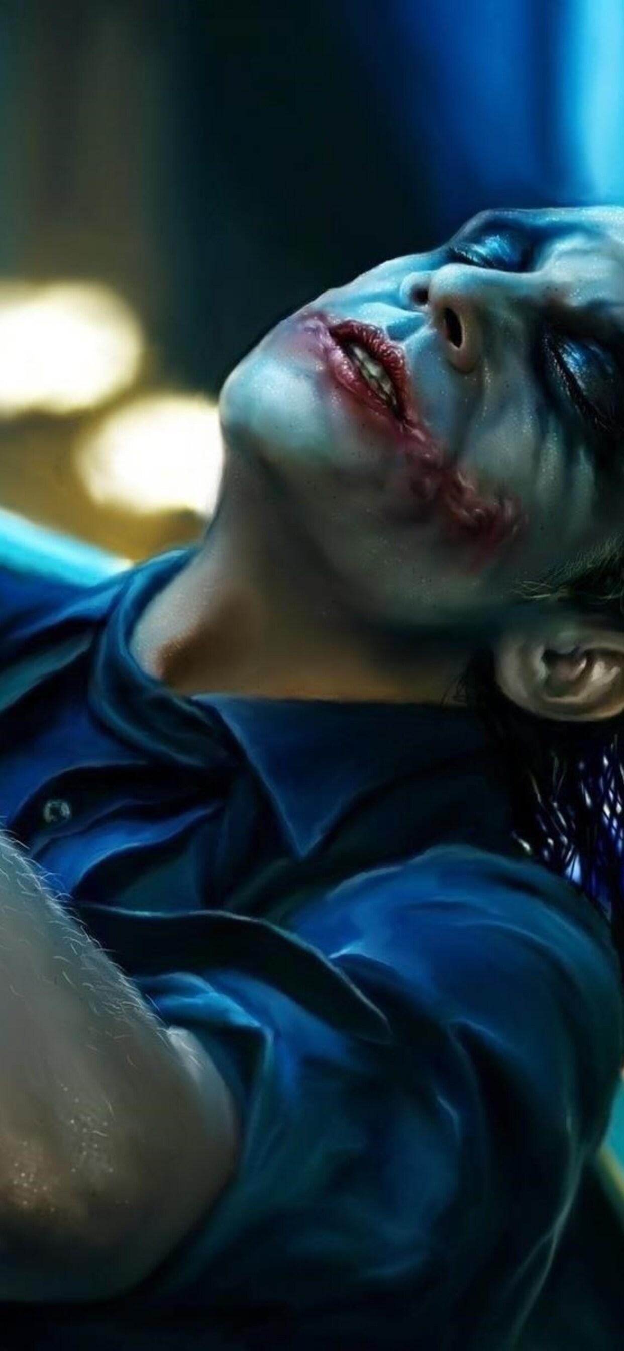 1242x2688 The Dark Knight Joker Artwork Iphone Xs Max Hd 4k
