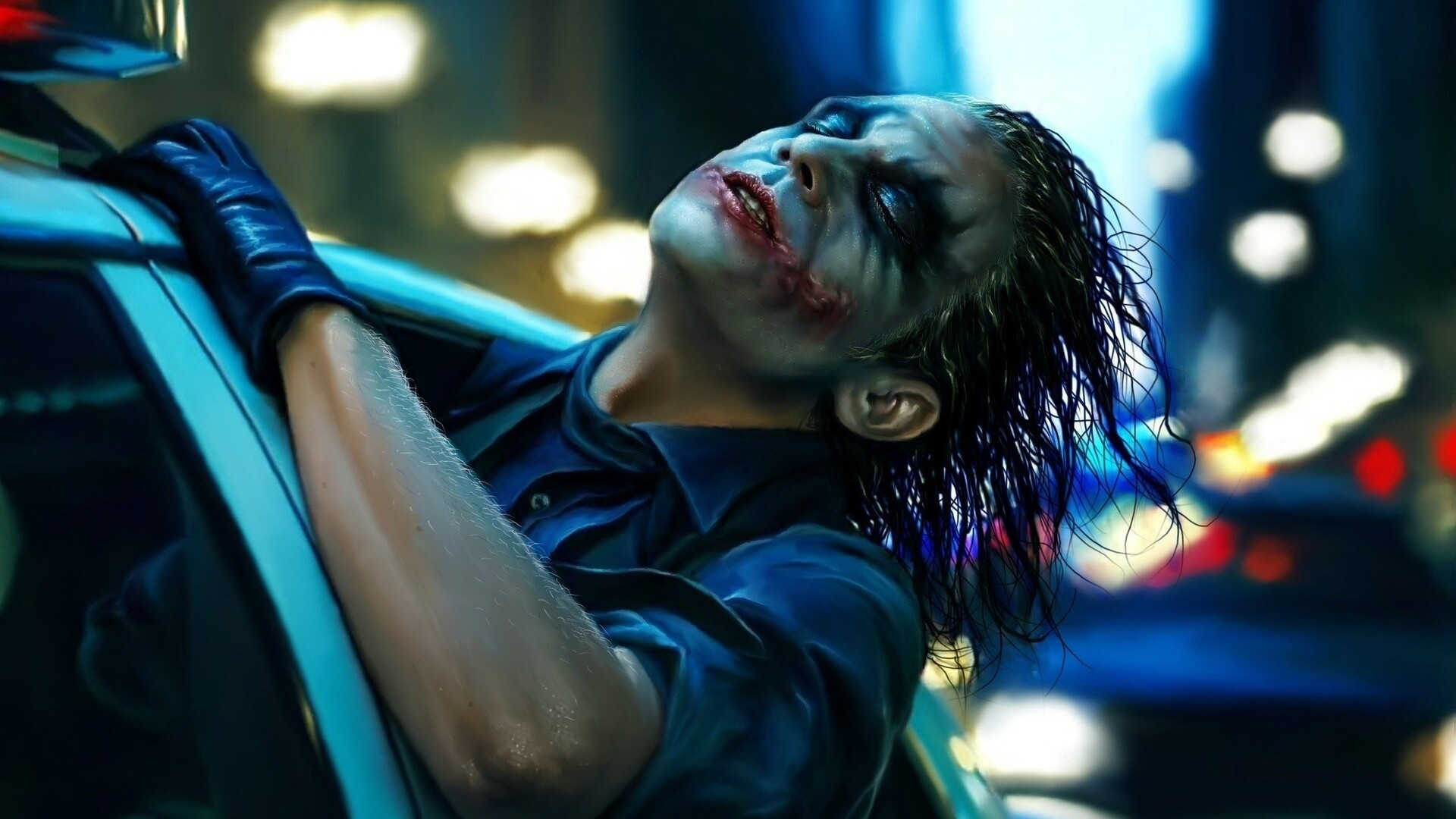 1920x1080 The Dark Knight Joker Artwork Laptop Full Hd 1080p Hd 4k