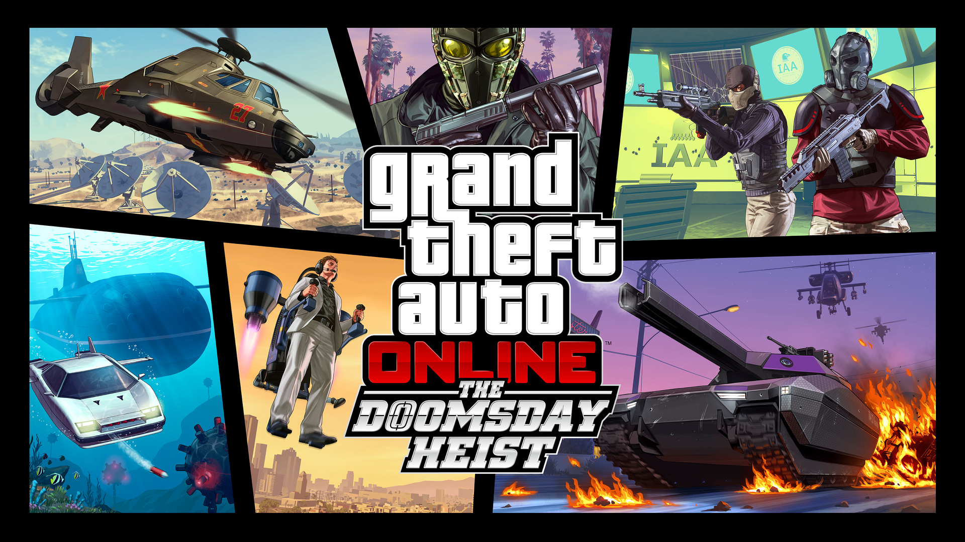 1920x1080 The Doomsday Heist Grand Theft Auto Online Laptop Full