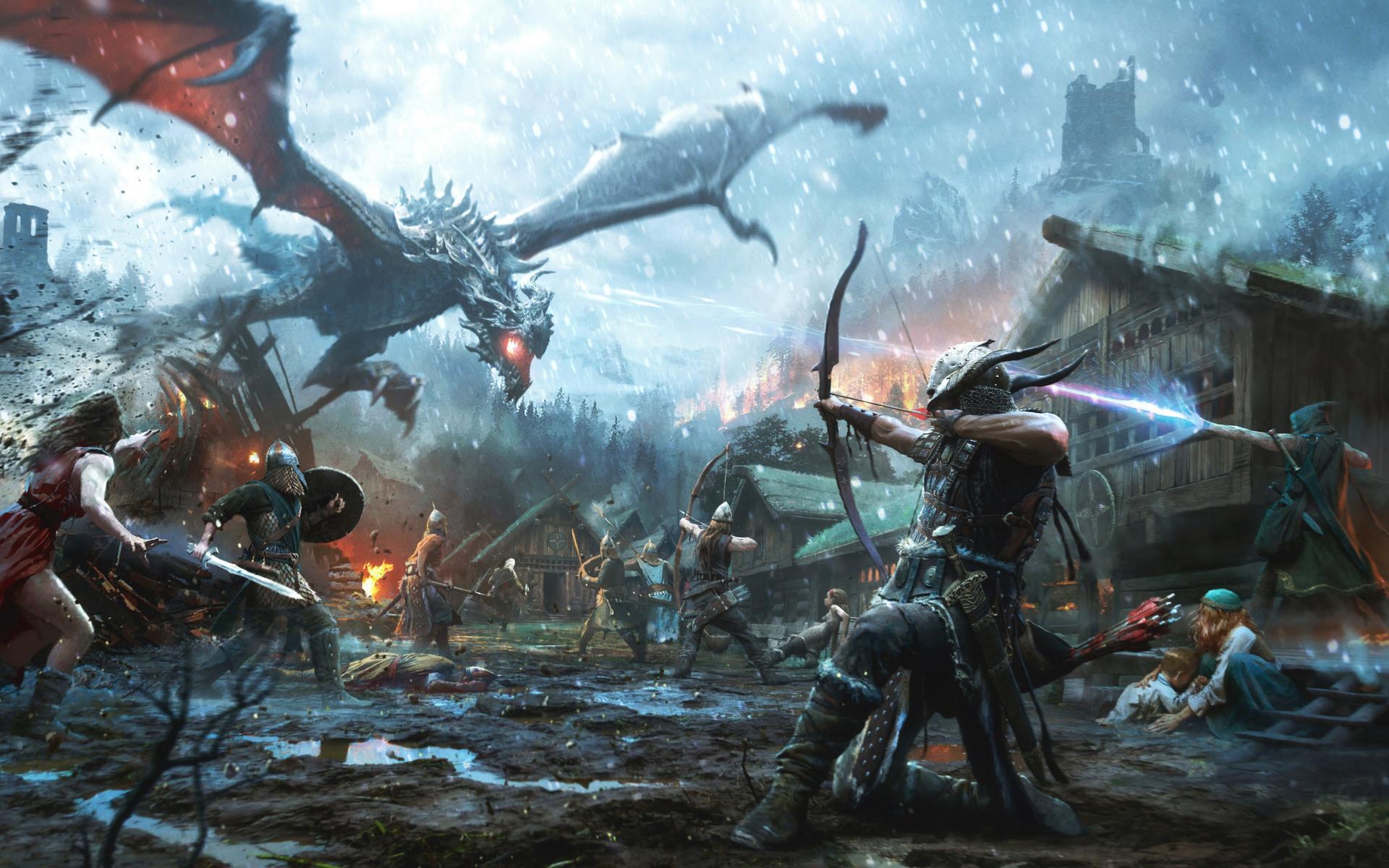 1920x1200 The Elder Scrolls Legends Heroes Of Skyrim 1080p
