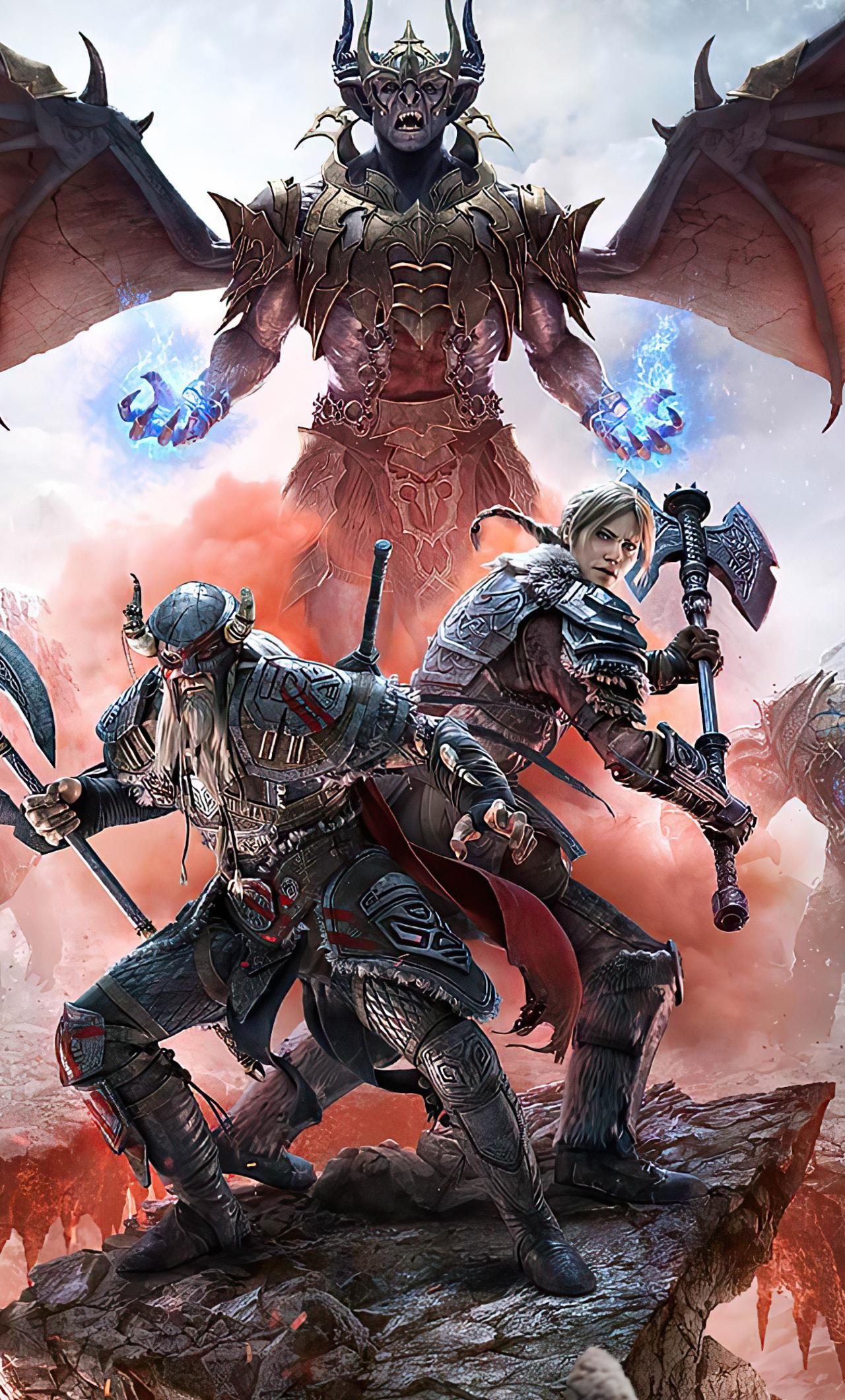 1280x2120 The Elder Scrolls Online 4k iPhone 6+ HD 4k ...