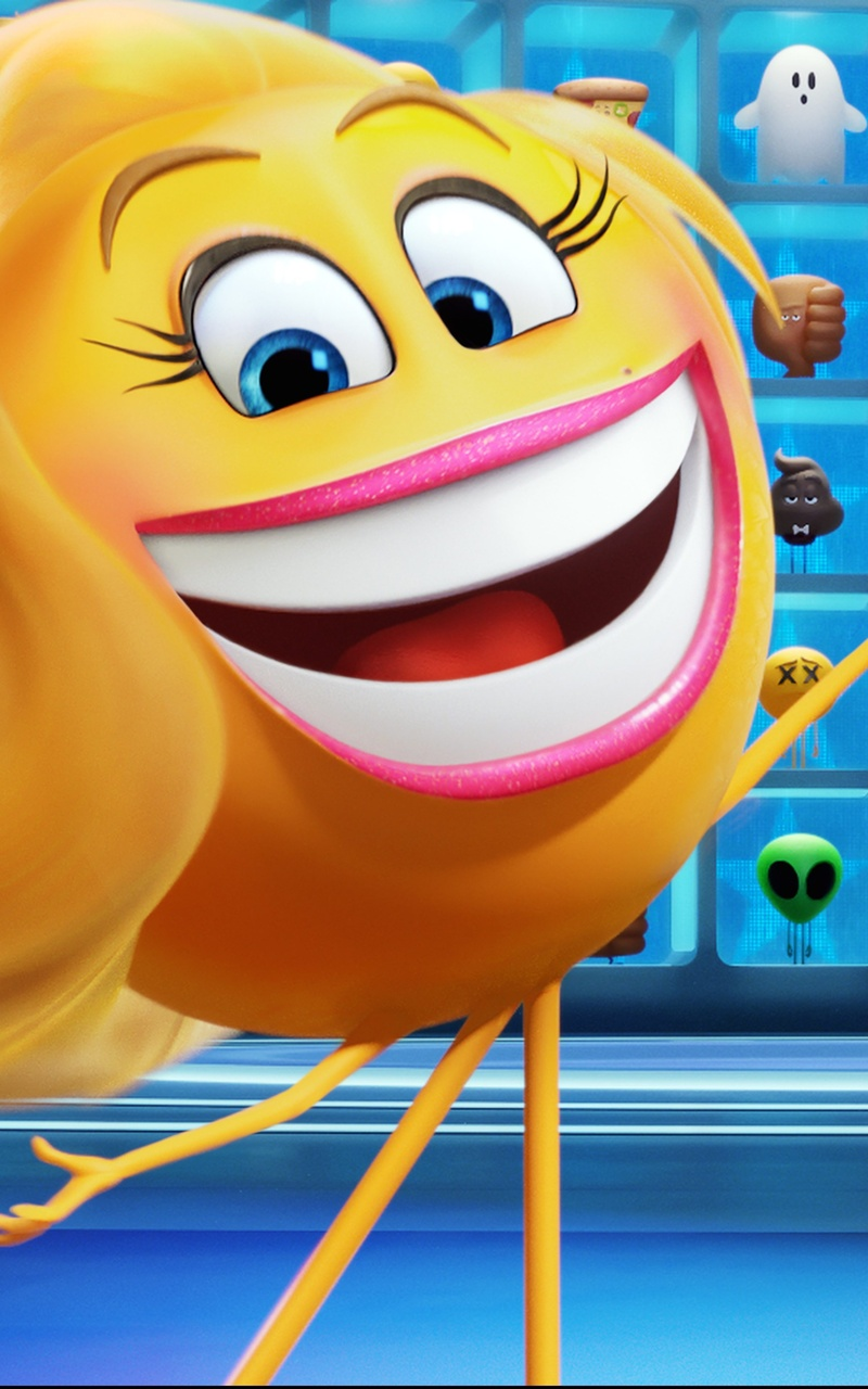 800x1280 The Emoji Movie 2017 Nexus 7 Samsung Galaxy Tab 10 Note Android Tablets Hd 4k Wallpapers Images Backgrounds Photos And Pictures