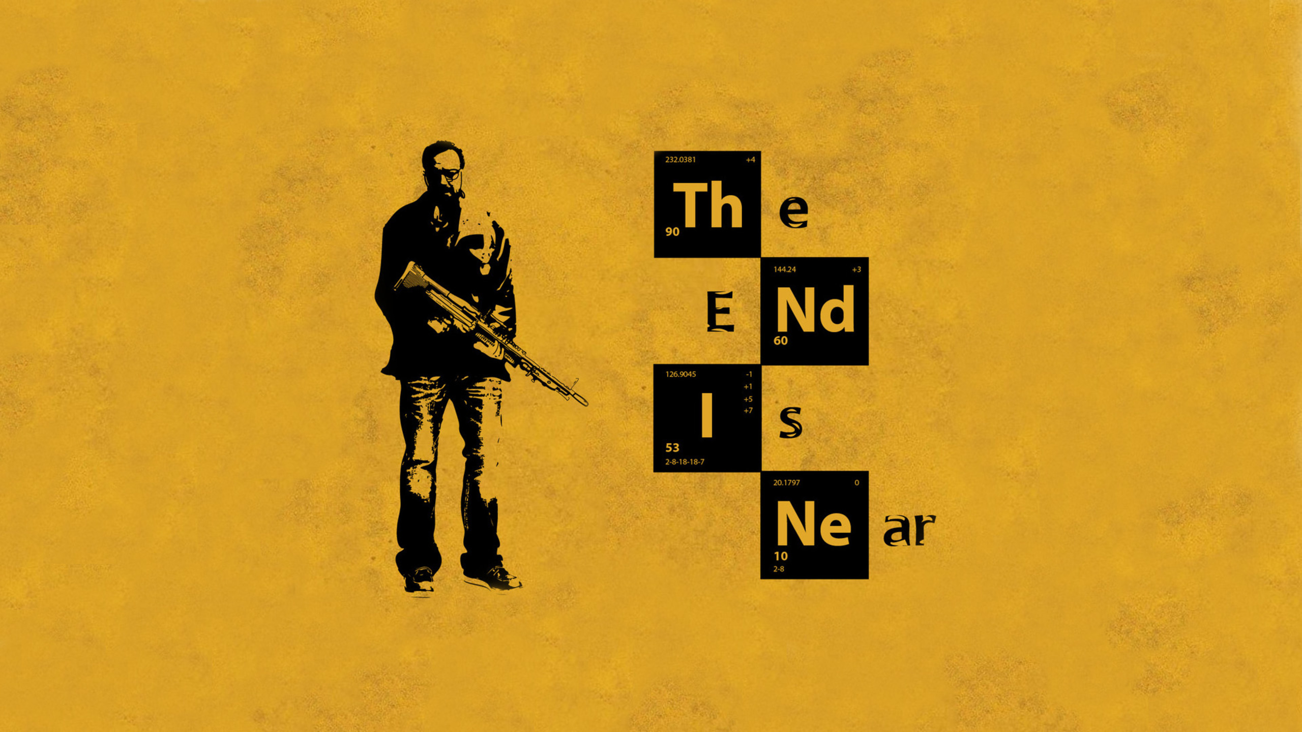 2560x1440 The End Is Near Breaking Bad 1440P Resolution HD