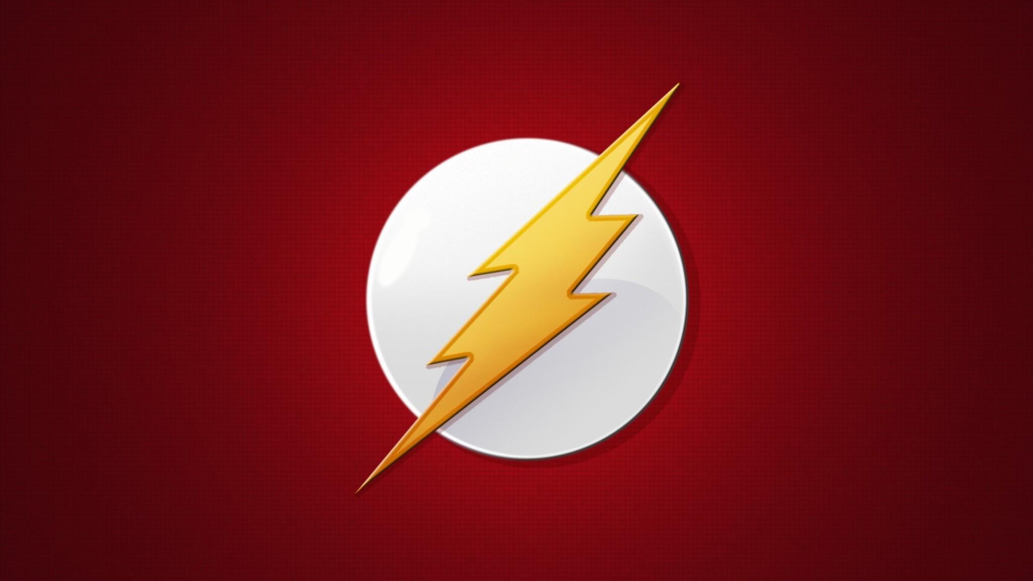 2048x1152 the flash logo 2048x1152 resolution hd 4k