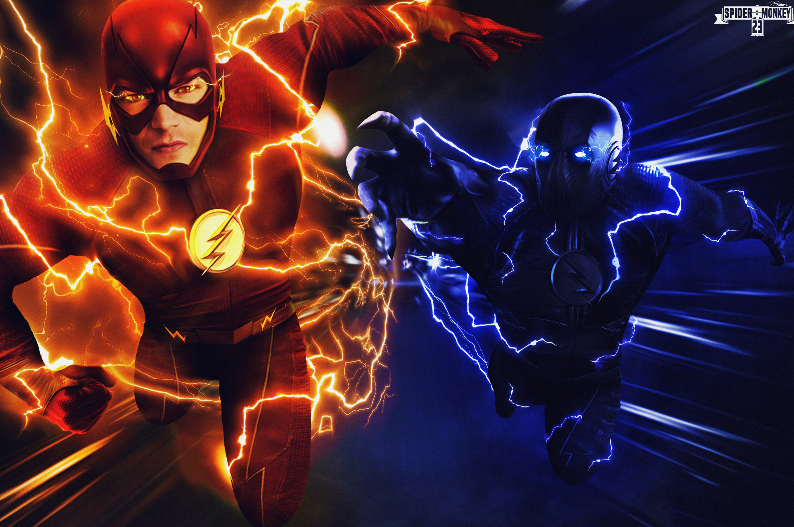 2560x1700 The Flash Vs Zoom Chromebook Pixel Hd 4k Wallpapers Images Backgrounds Photos And Pictures