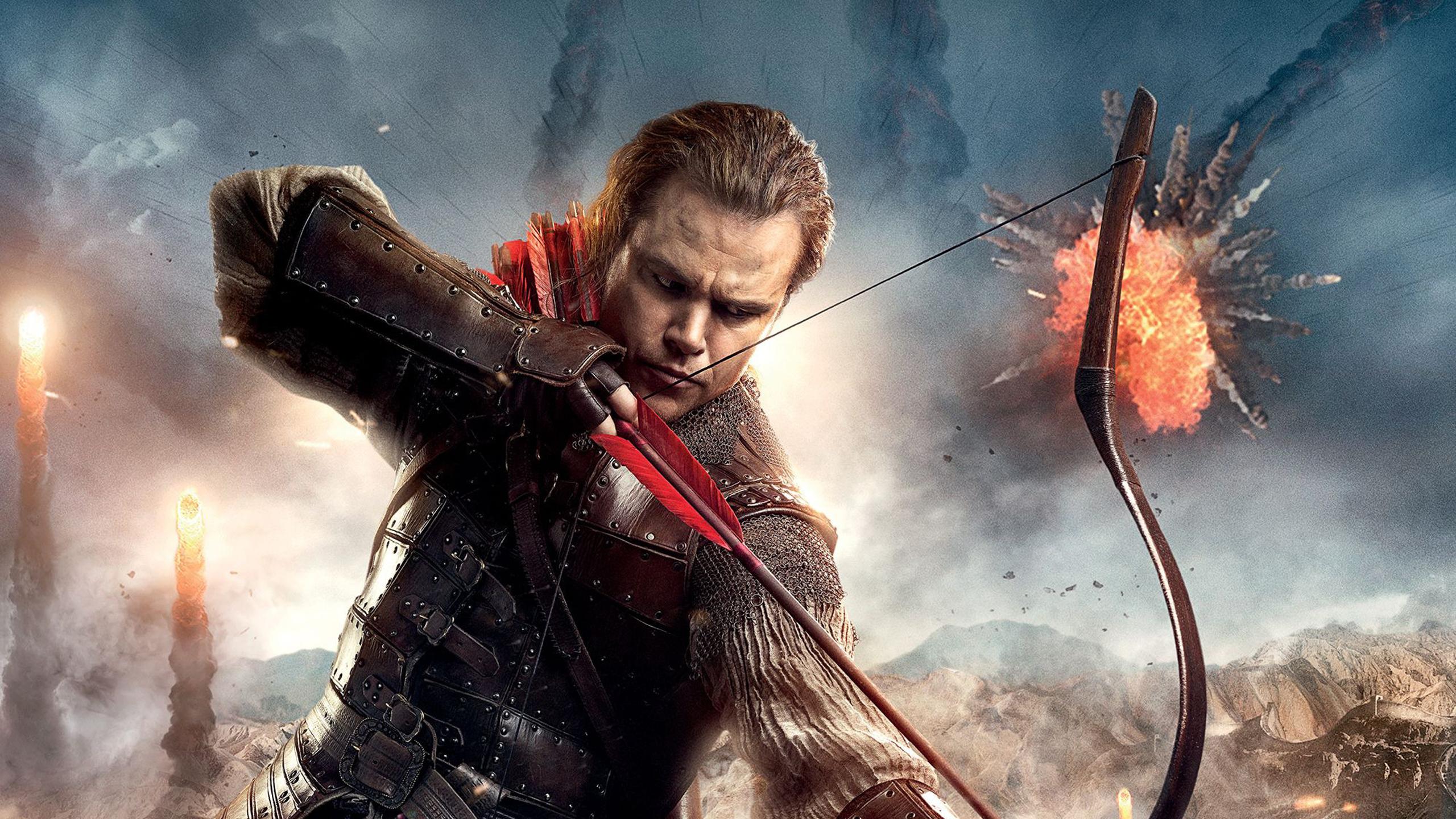 2560x1440 The Great Wall Matt Damon 2017 Movie 1440p
