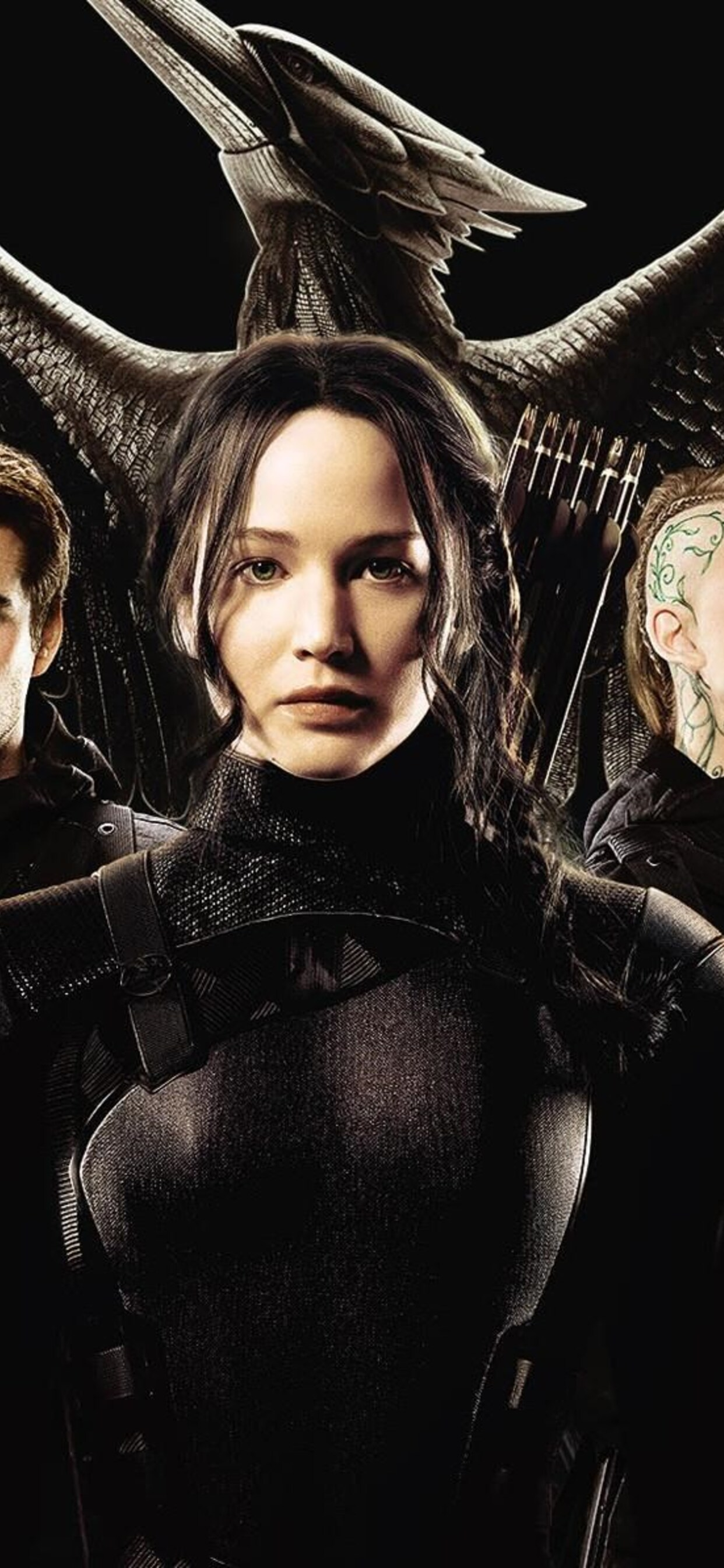 1242x2688 The Hunger Games Mockingjay Part 1 Movie Iphone Xs