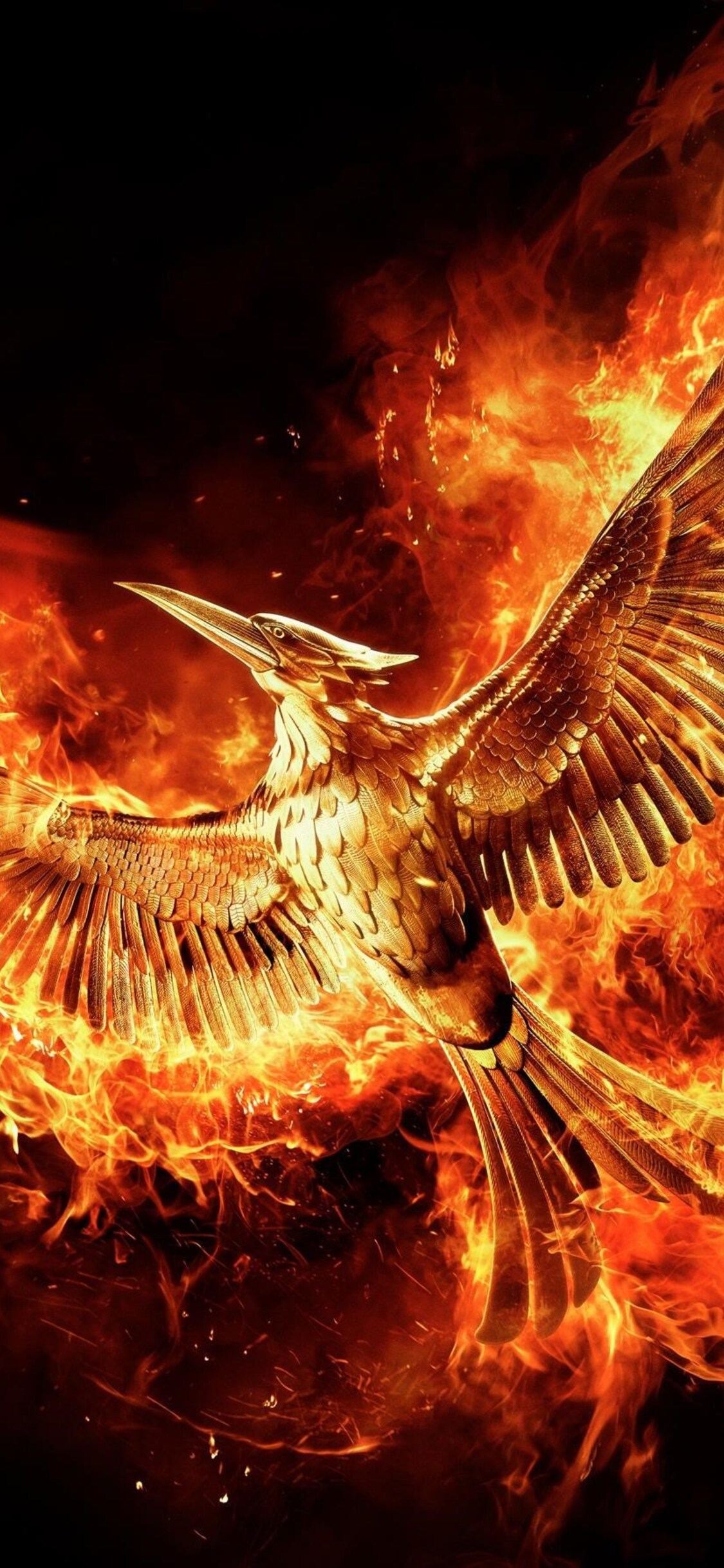 1125x2436 The Hunger Games Mockingjay Part 2 Movie Iphone Xs
