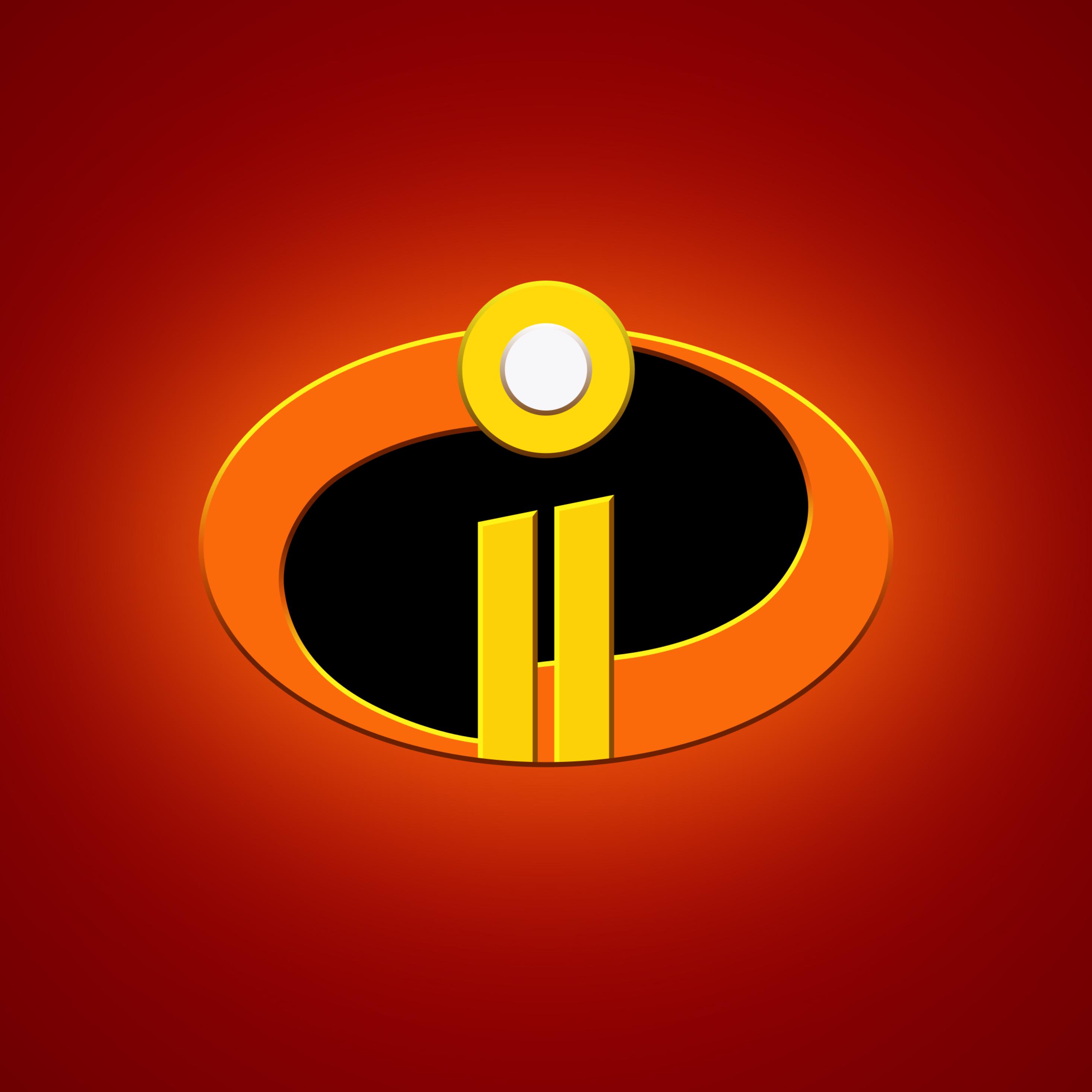 2932x2932 The Incredibles 2 Logo 4k Ipad Pro Retina ...