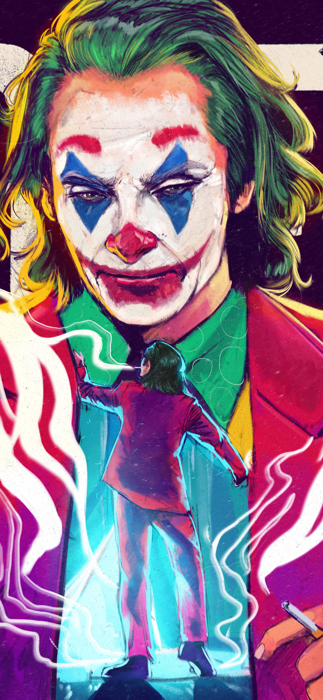 1125x2436 The Joker 4k Joaquin Phoenix Iphone Xs Iphone 10