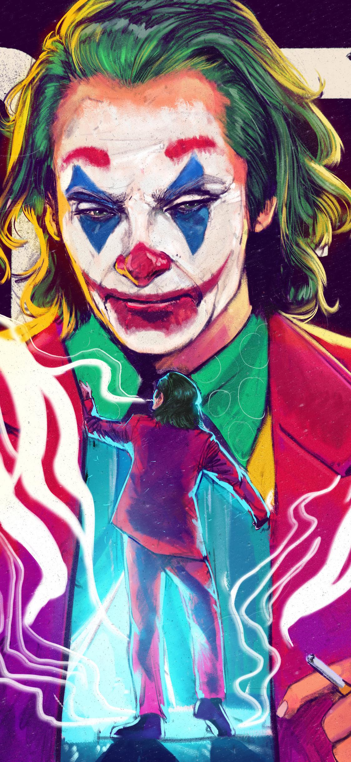 1125x2436 The Joker 4k Joaquin Phoenix Iphone Xs Iphone 10
