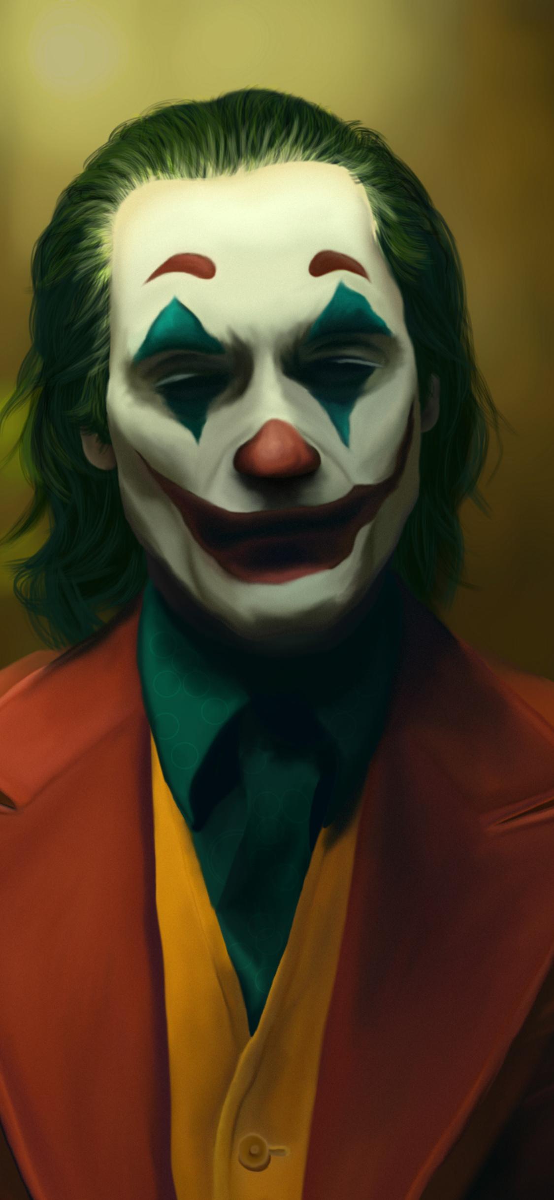 1125x2436 The Joker Joaquin Phoenix Art New Iphone Xs Iphone