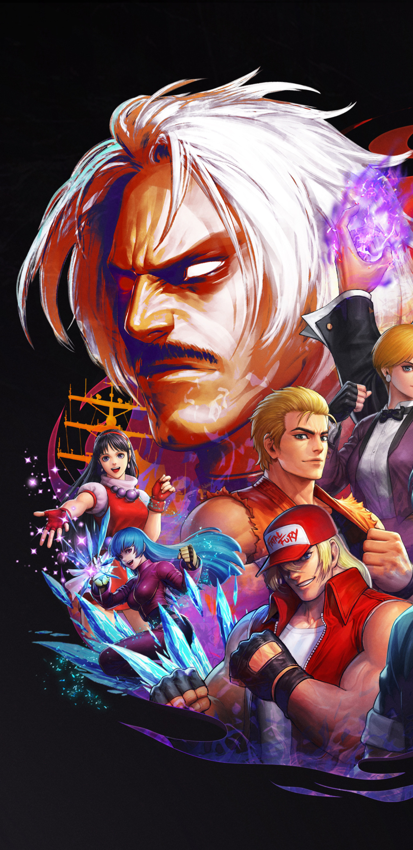 the king of fighters all star wallpaper
