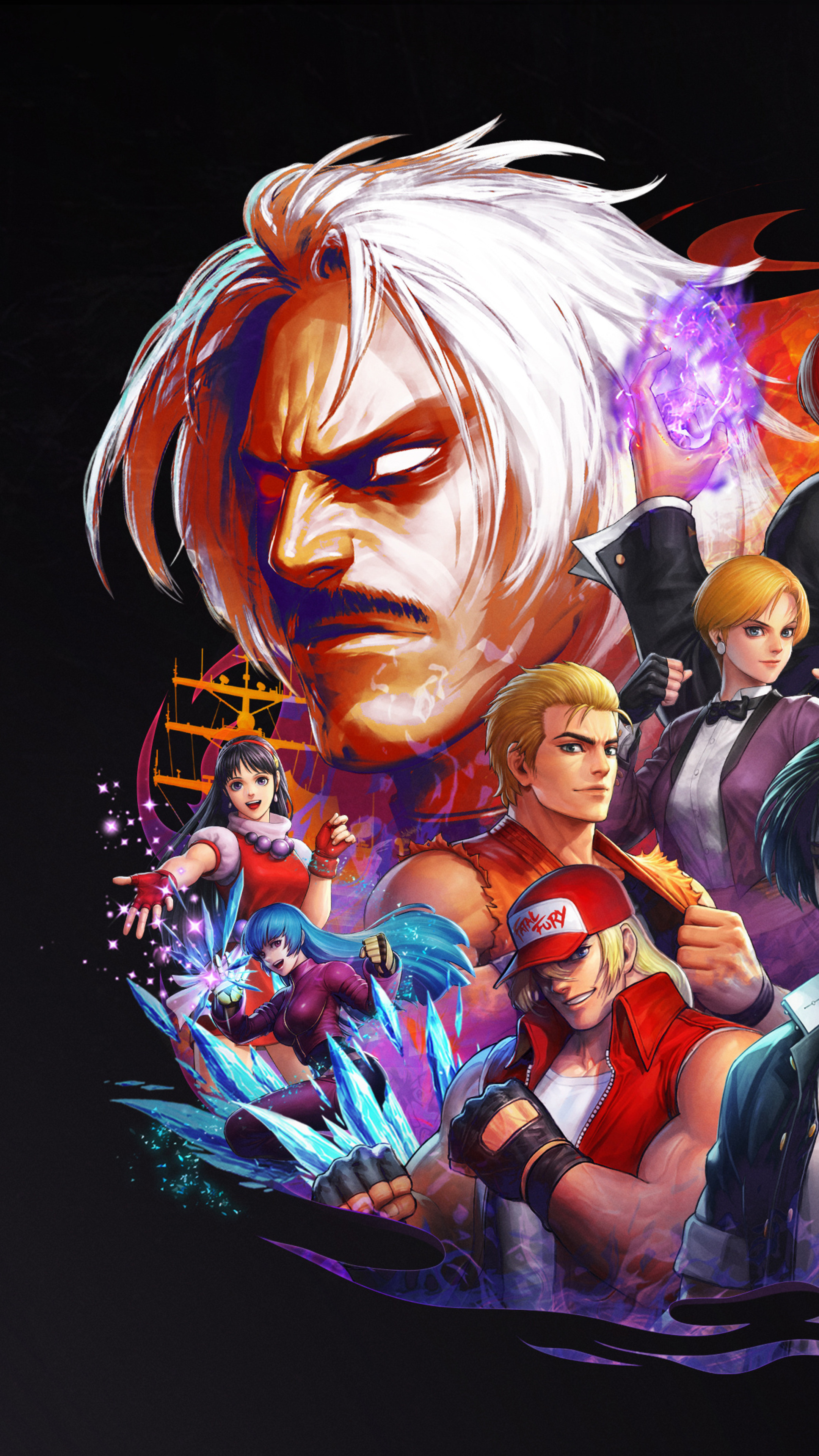 2160x3840 The King Of Fighters All Star Sony Xperia X Xz Z5