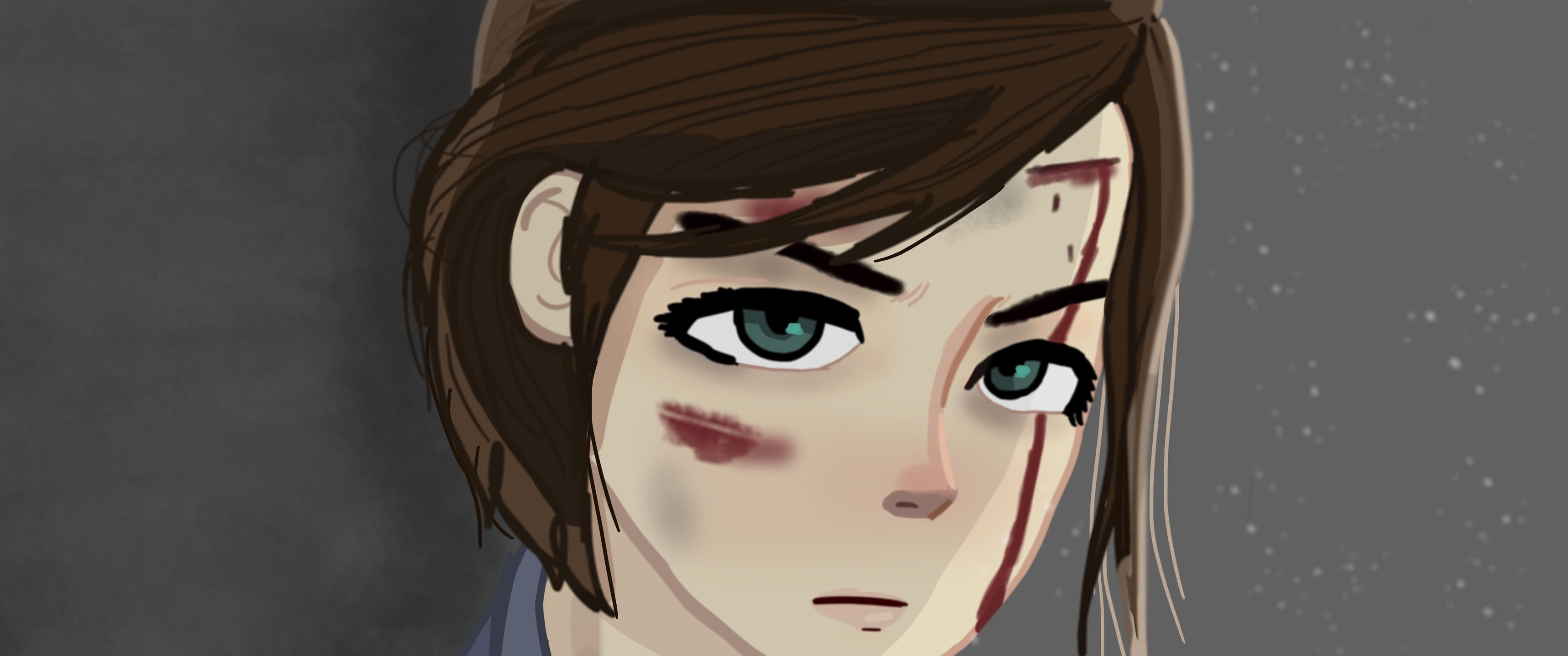 3440x1440 The Last Of Us 2 Ellie Fan Art 5k 3440x1440