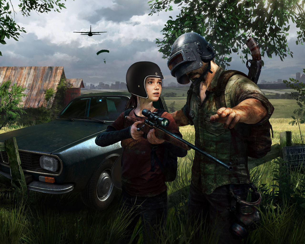 1280x1024 The Last Of Us As Pubg Character 1280x1024 Resolution Hd