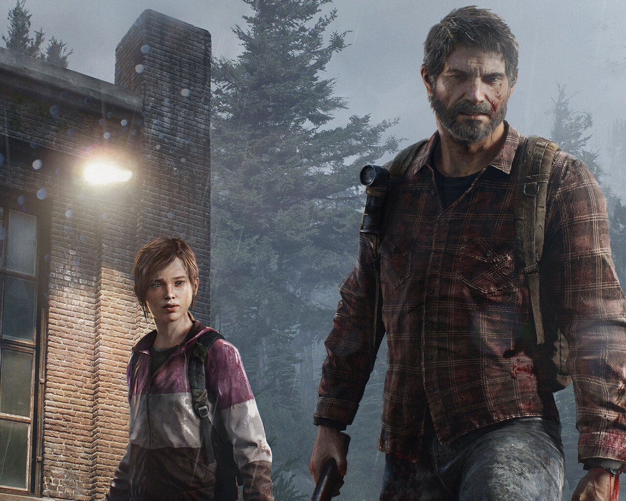 1280x1024 The Last Of Us Joel Eliie 1280x1024 Resolution Hd 4k
