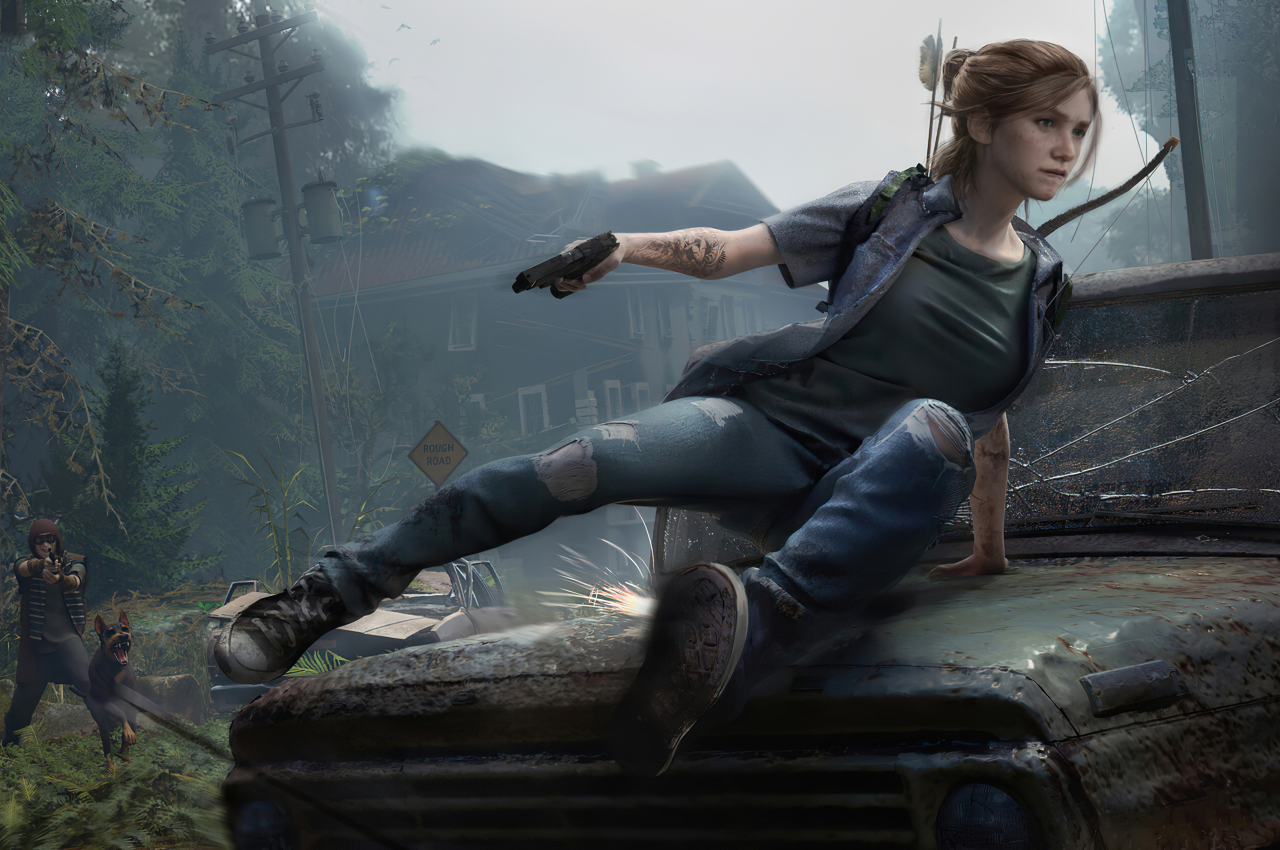 2560x1700 The Last Of Us Part 2 Game Chromebook Pixel HD ...