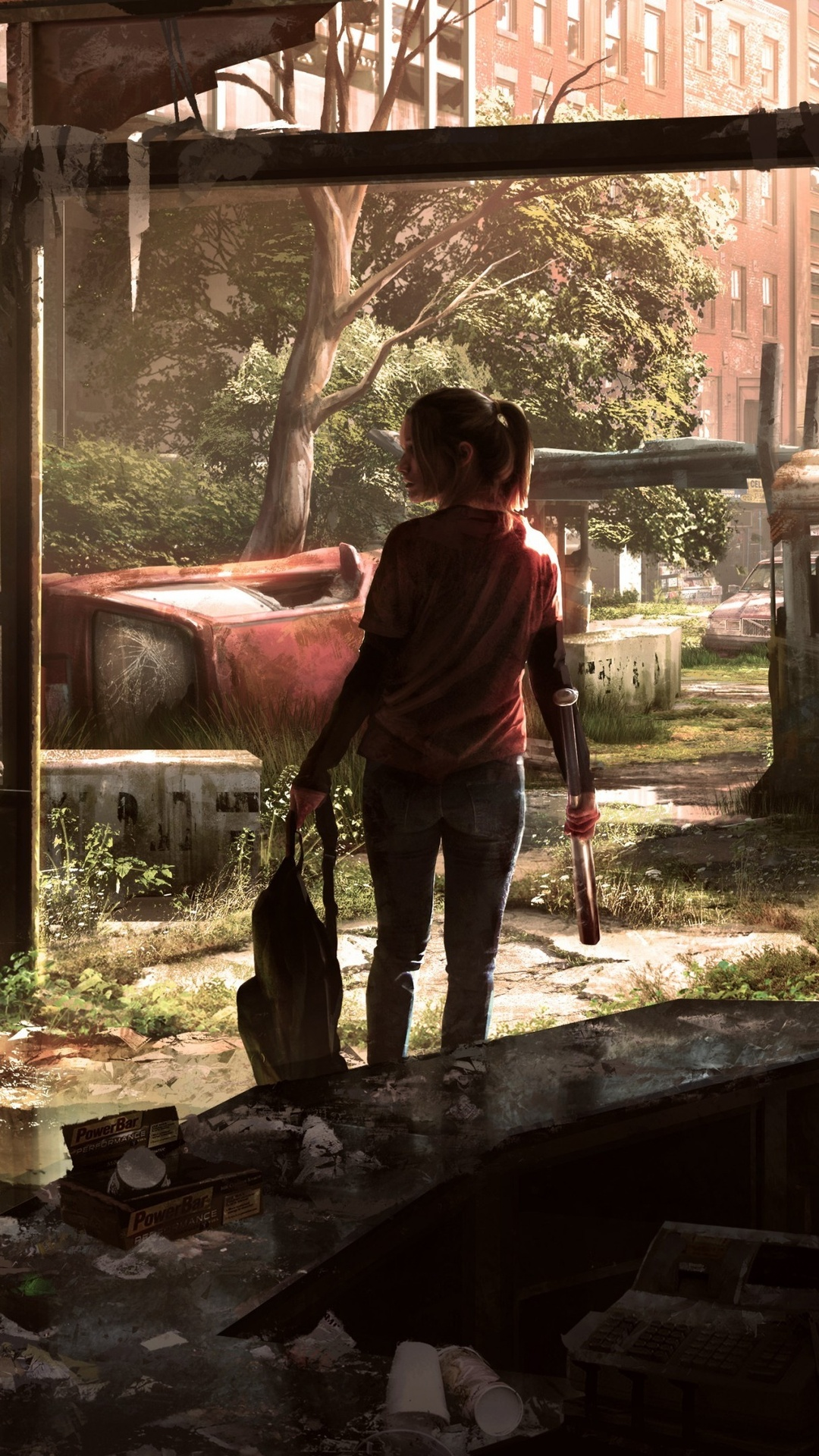 1080x1920 The Last Of Us Video Game 4k Iphone 7 6s 6 Plus Pixel