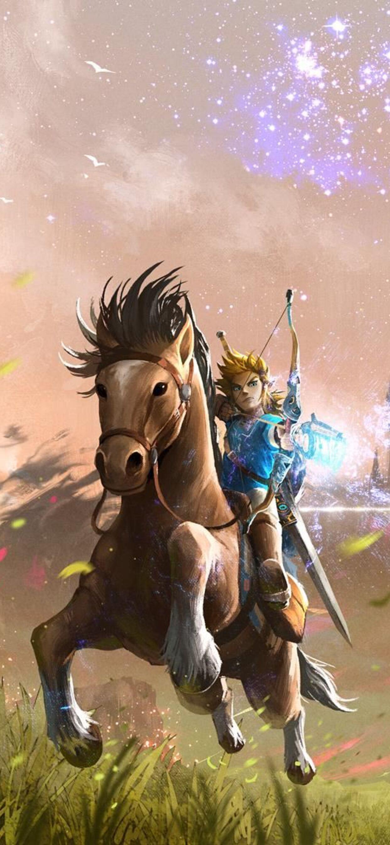 1242x2688 The Legend Of Zelda Art Iphone Xs Max Hd 4k Wallpapers