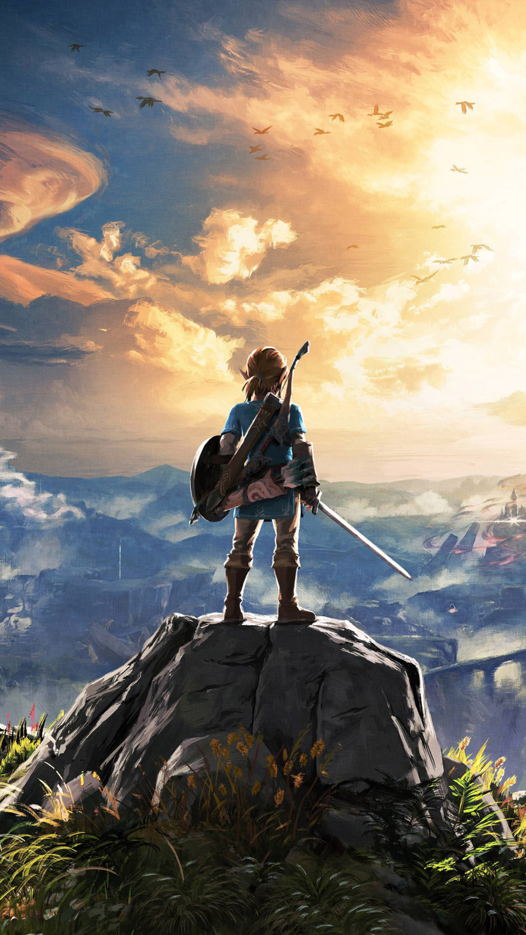 1080x1920 The Legend Of Zelda Breath Of The Wild 4k Iphone 7,6s,6 Plus, Pixel xl ,One Plus 3,3t