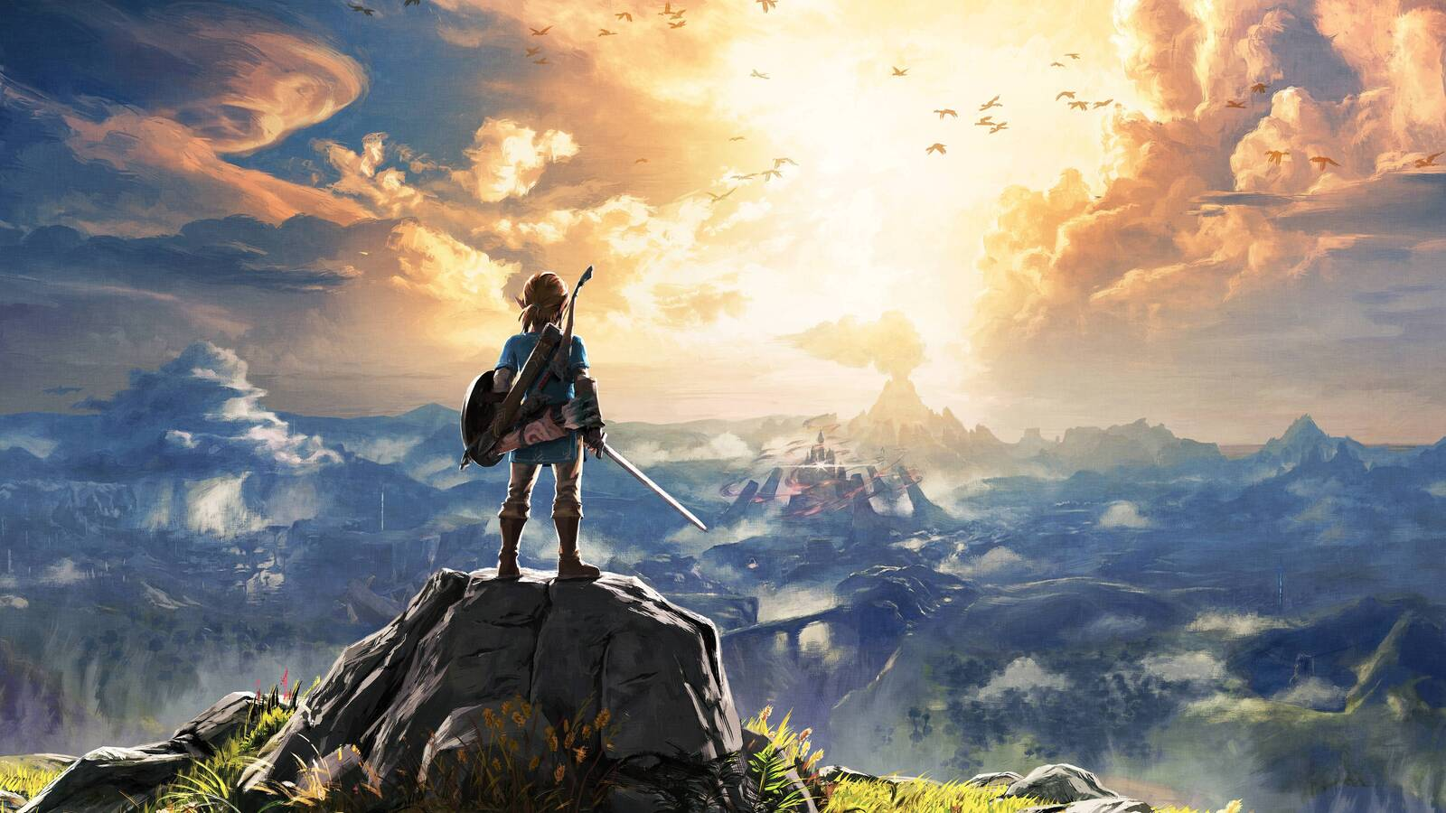 1600x900 the legend of zelda breath of the wild 4k 1600x900 resolution hd 4k wallpapers images - Wallpapers 1600x900 ...