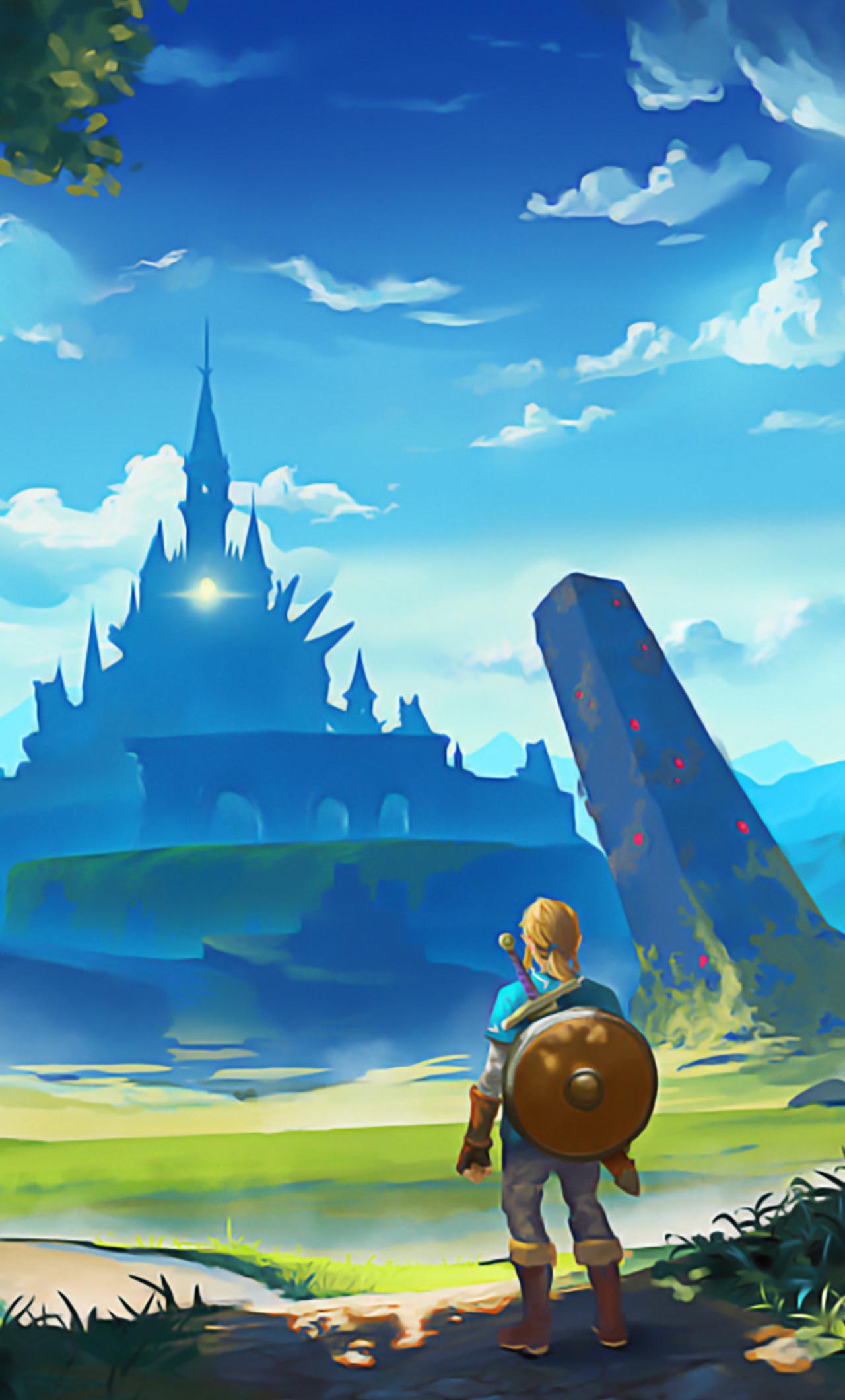 1280x2120 The Legend Of Zelda Breath Of The Wild Artworks Iphone 6