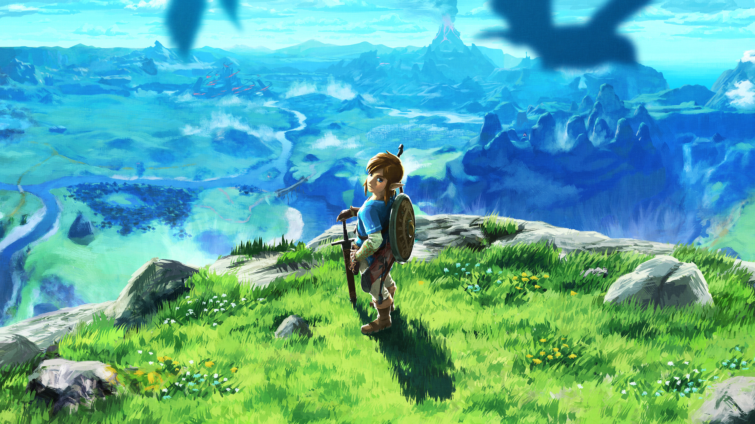 2560x1440 The Legend Of Zelda Breath Of The Wilk 2017 Game 1440p
