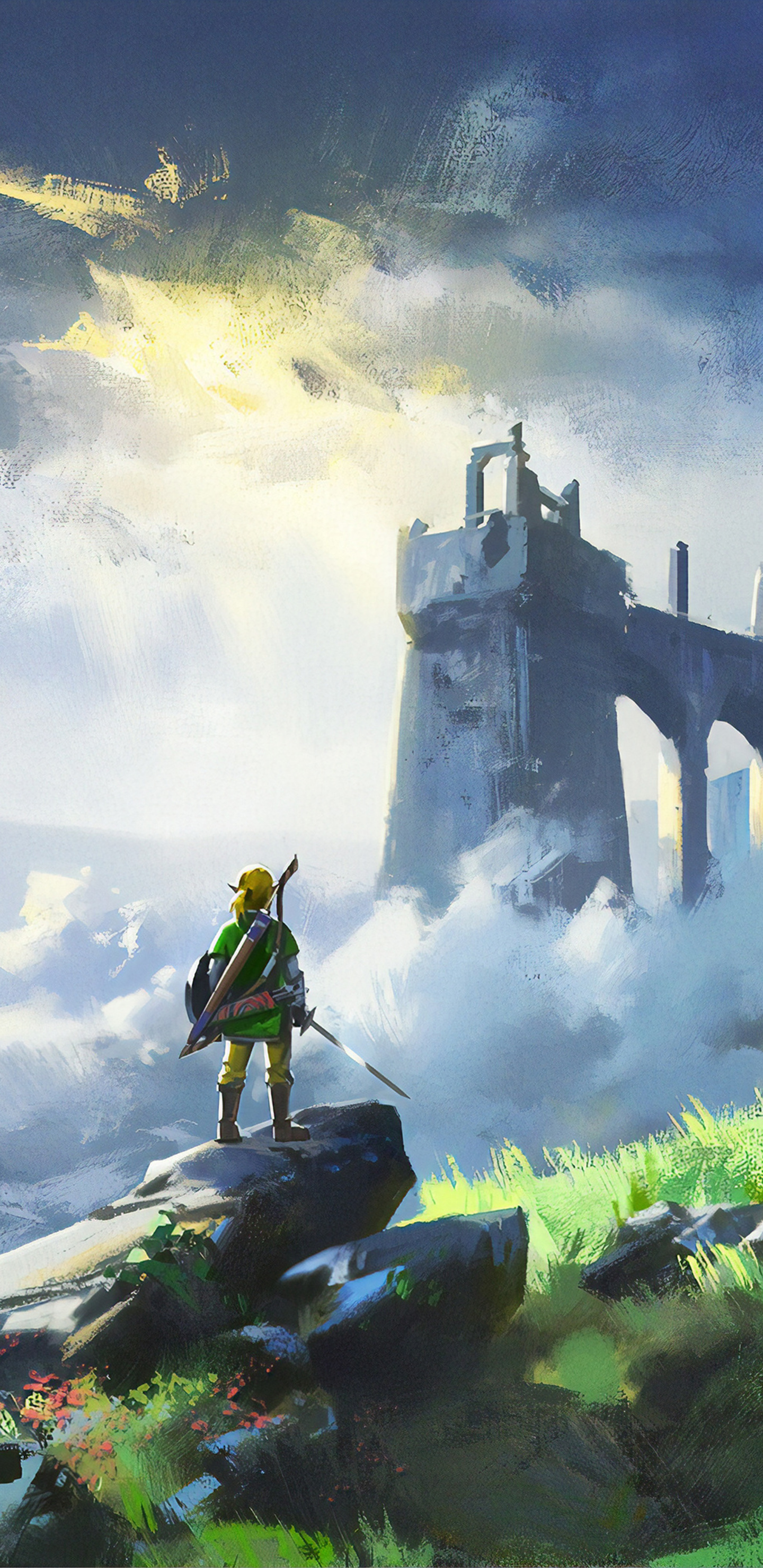 1440x2960 The Legend Of Zelda Breath Of Wild Game 4k Samsung