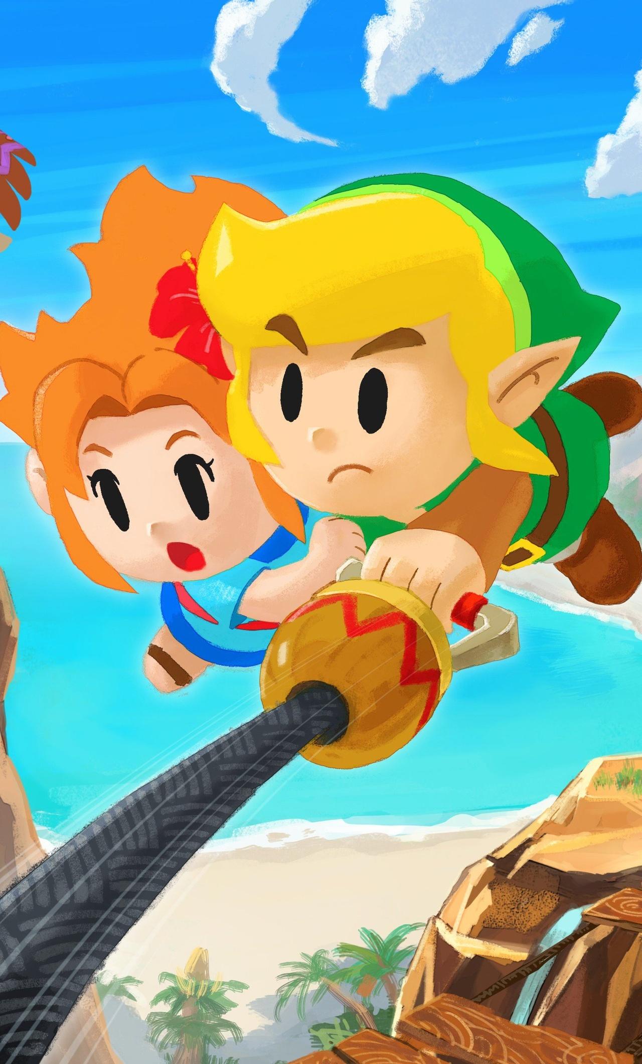1280x2120 The Legend Of Zelda Links Awakening Iphone 6 Hd 4k