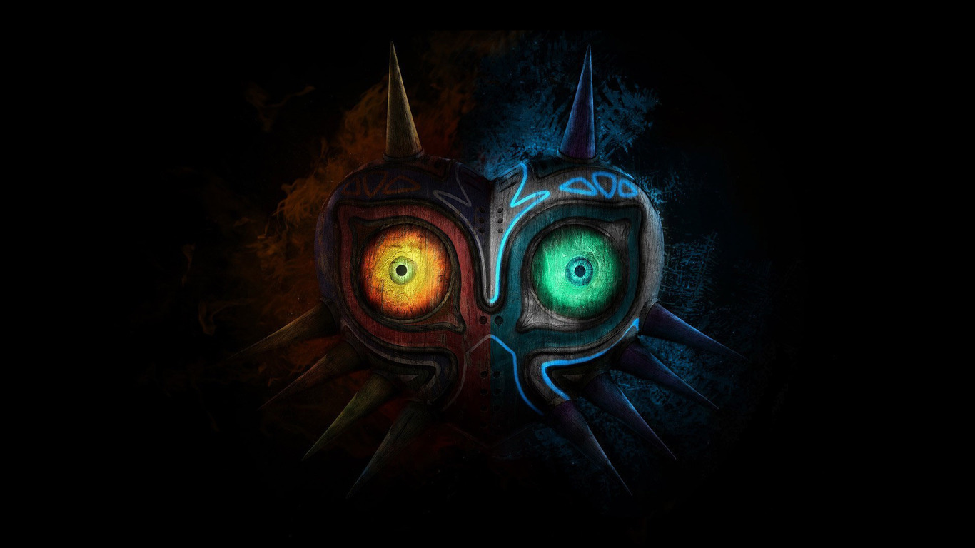 1366x768 The Legend Of Zelda Majora Mask 1366x768 Resolution Hd 4k