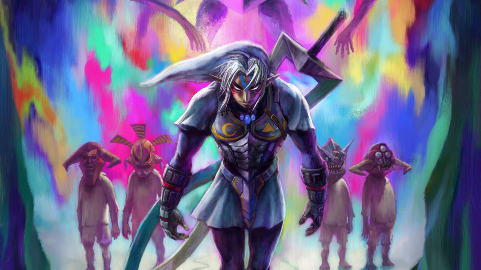 1600x900 The Legend Of Zelda Majoras Mask 1600x900 Resolution Hd 4k