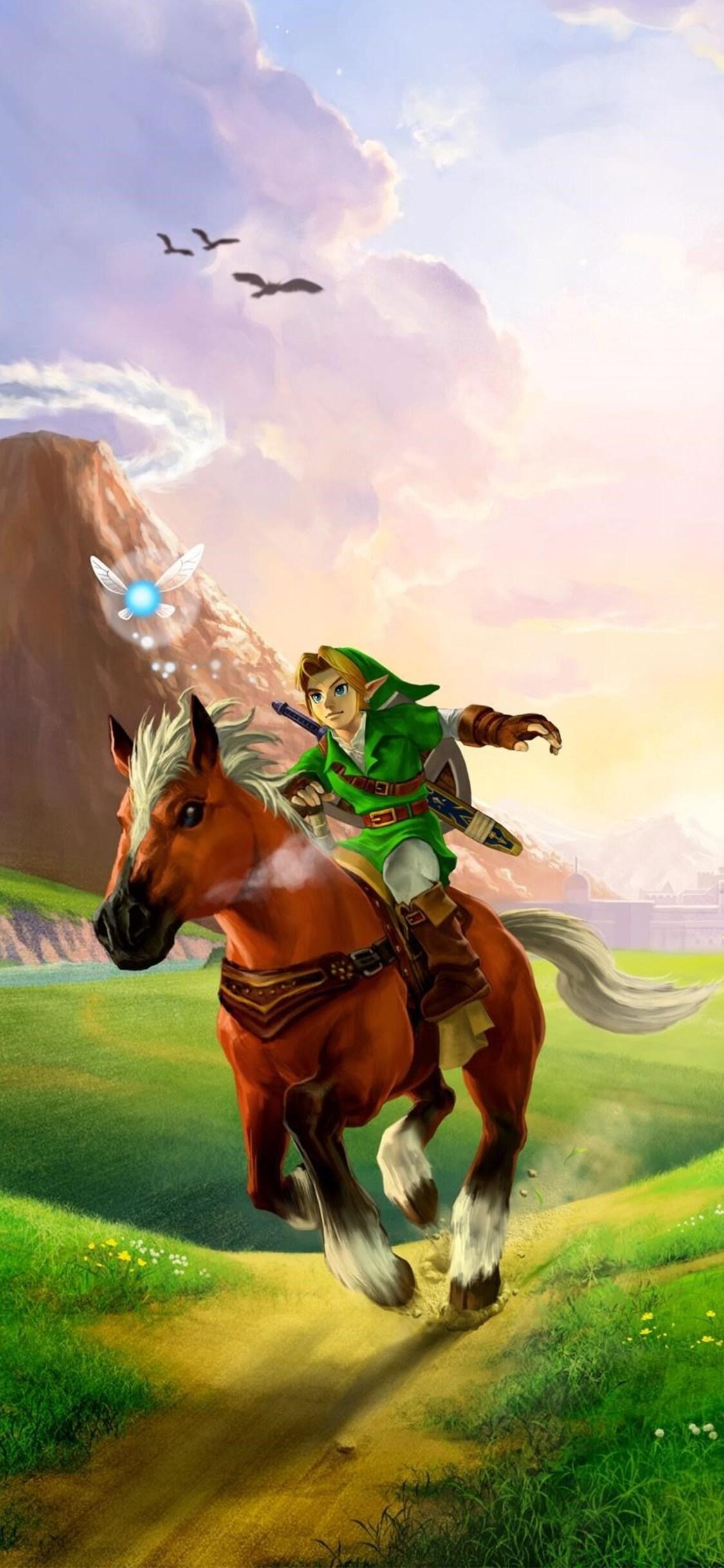 1125x2436 The Legend Of Zelda Ocarina Of Time 3d Iphone Xs Iphone