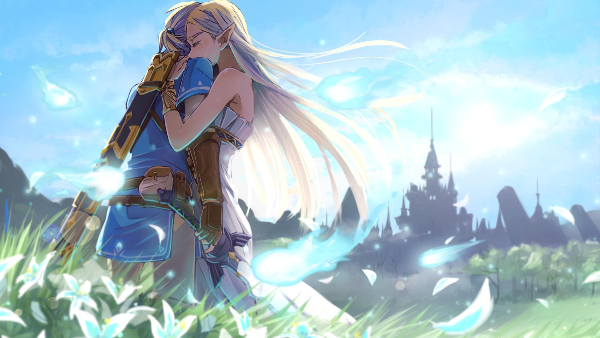 1080p Zelda Wallpaper: 1920x1080 The Legend Of Zelda Romantic Love Artwork Laptop