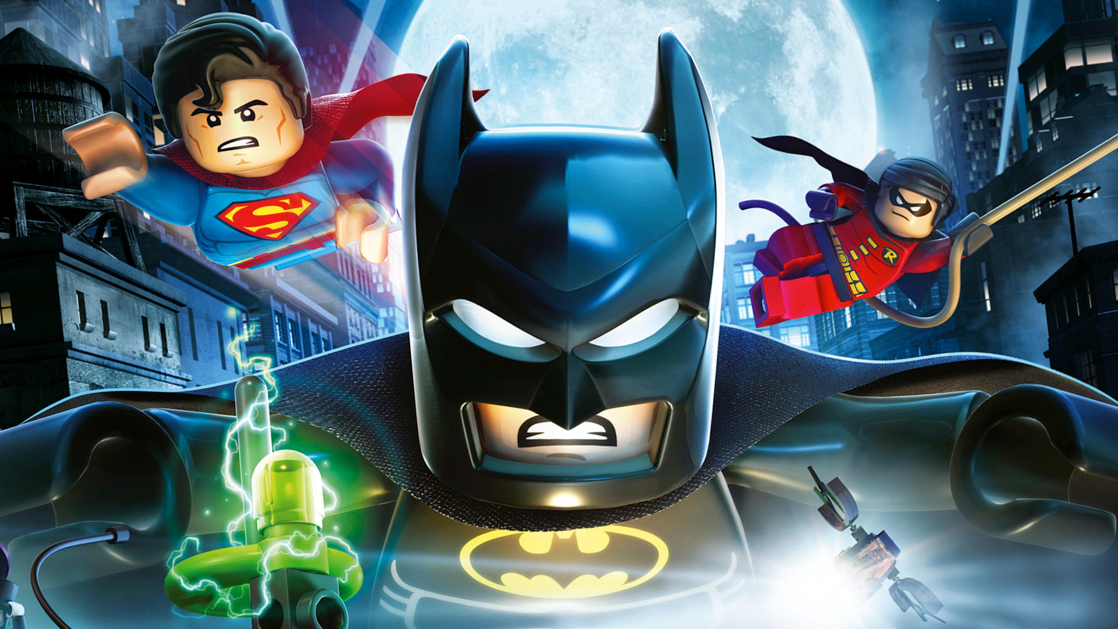 3840x2160 The Lego Batman Superman And Robin 4k HD 4k ...